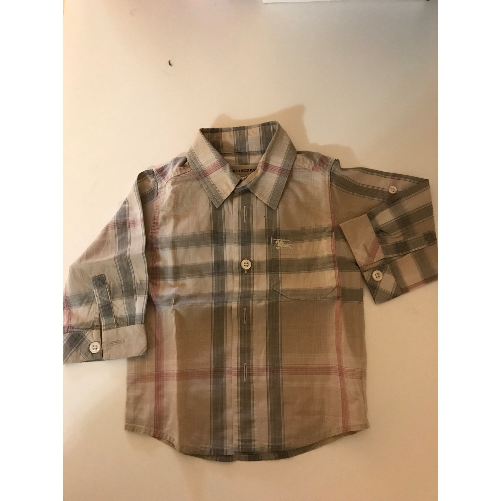 Chemise BURBERRY Beige, camel