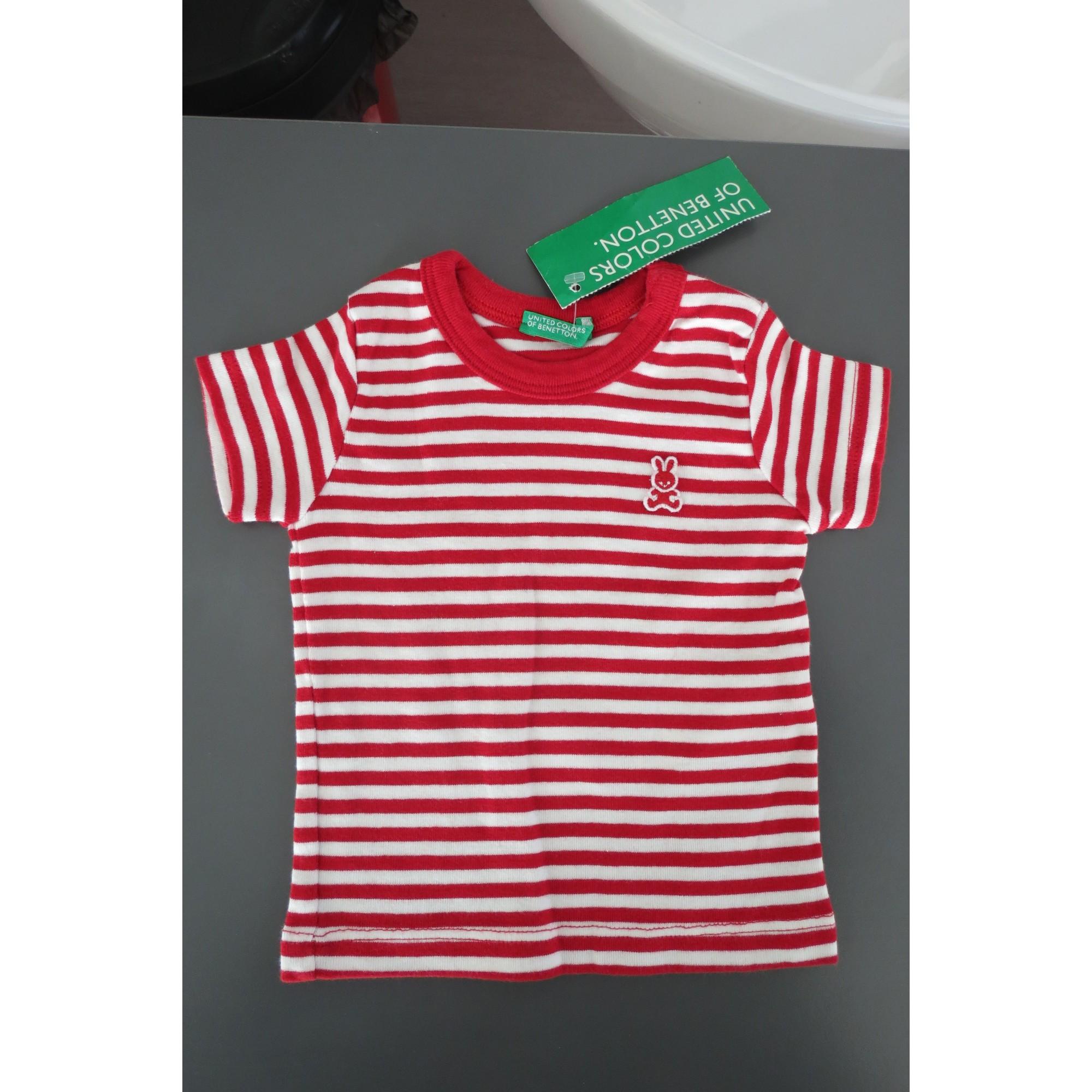 Top, tee shirt BENETTON Multicouleur