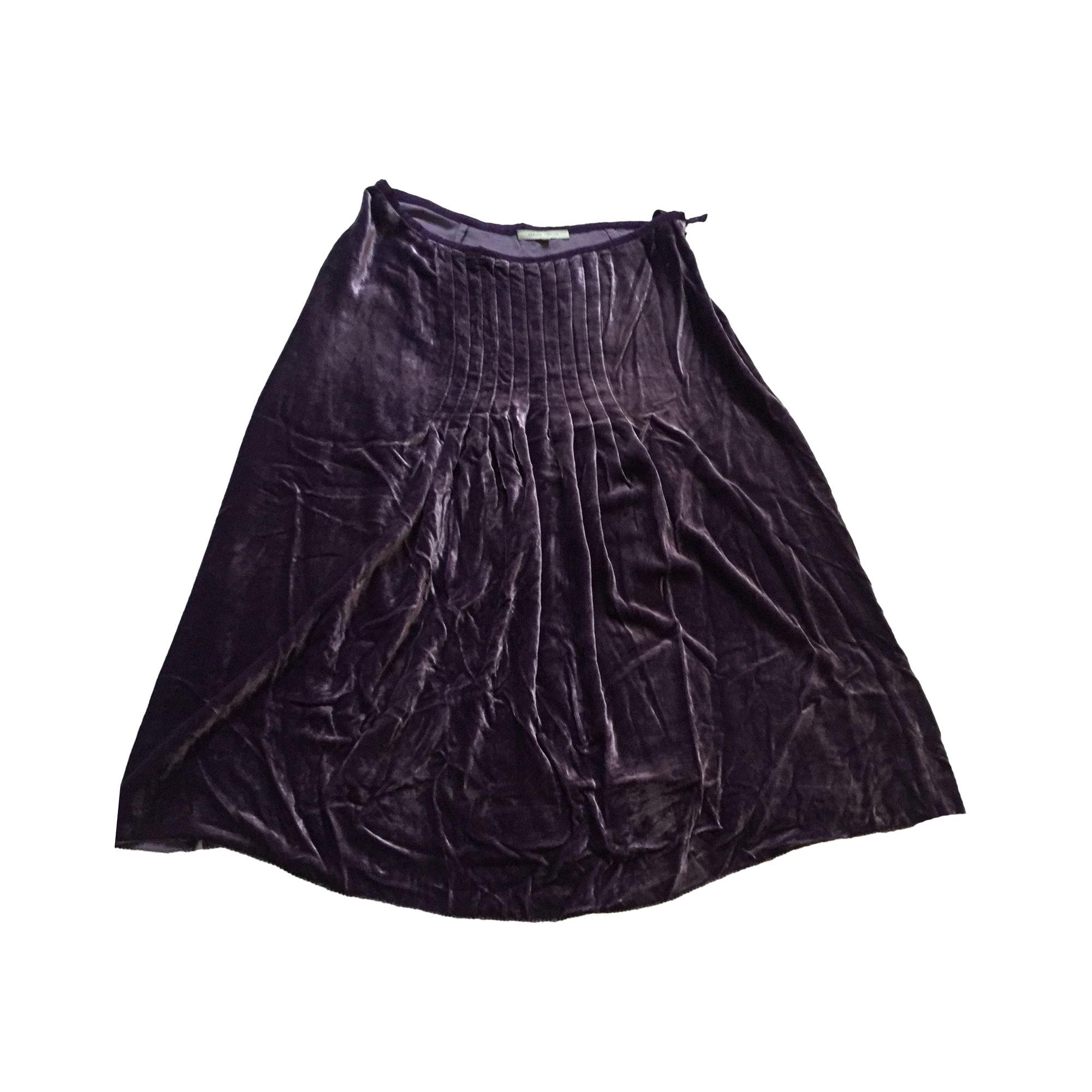 Jupe mi-longue ARMAND VENTILO Violet, mauve, lavande