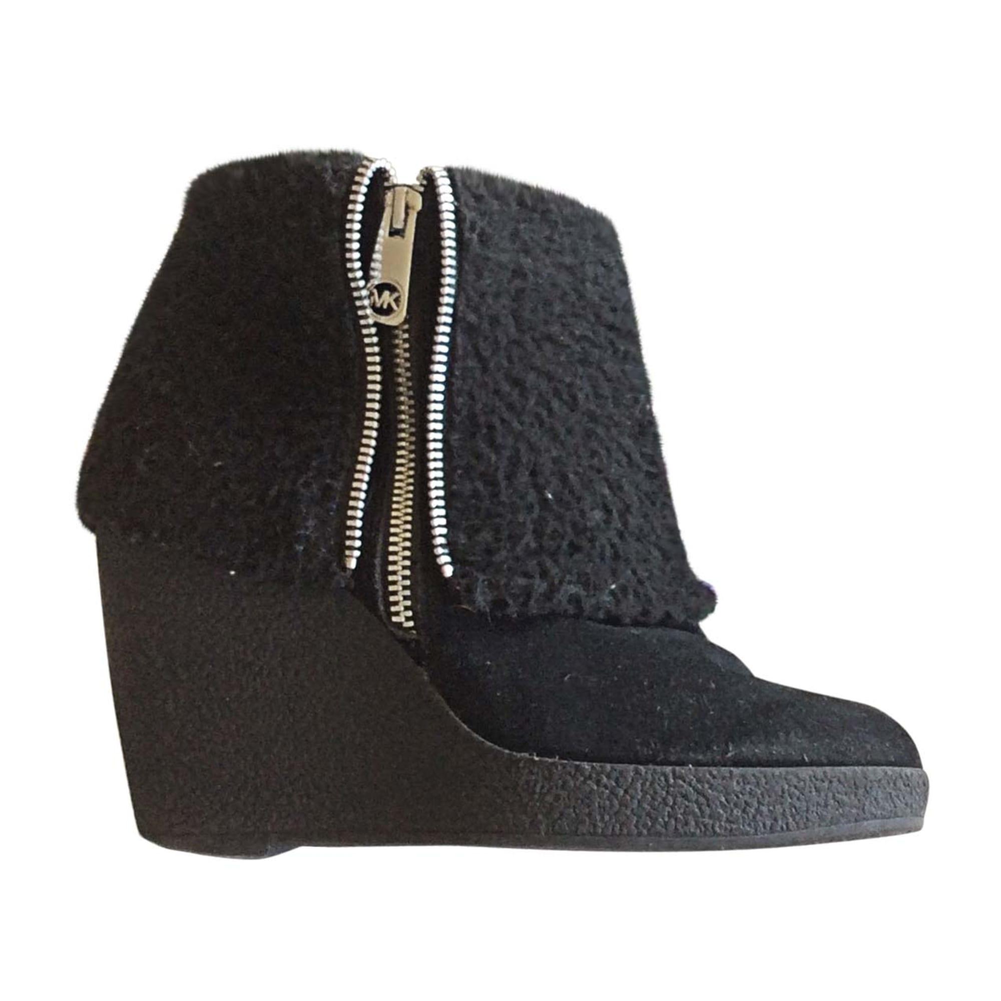 Bottines & low boots à compensés MICHAEL KORS Noir