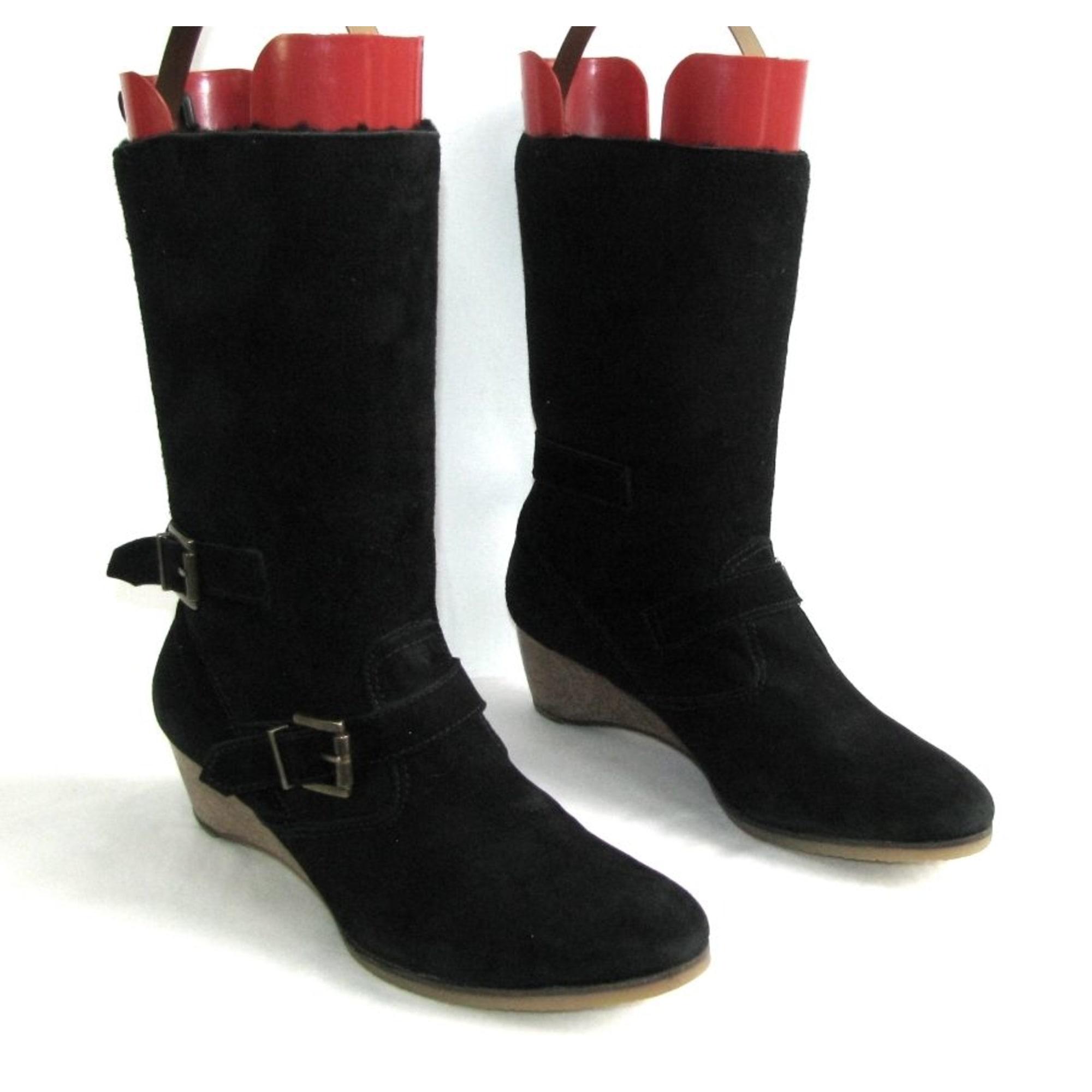 Bottines & low boots à compensés ATHÉ VANESSA BRUNO Noir