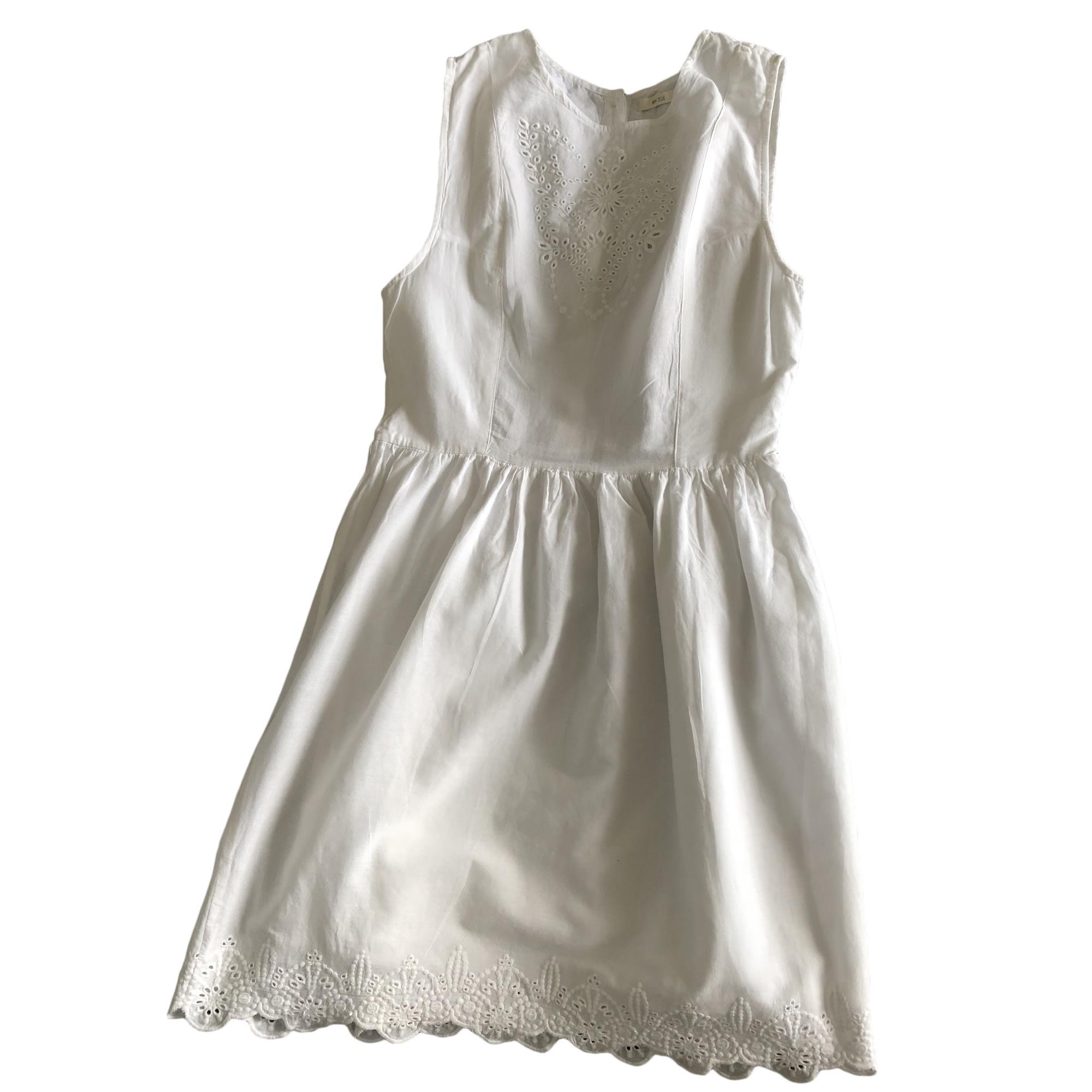 Robe mi-longue BY ZOE Blanc, blanc cassé, écru
