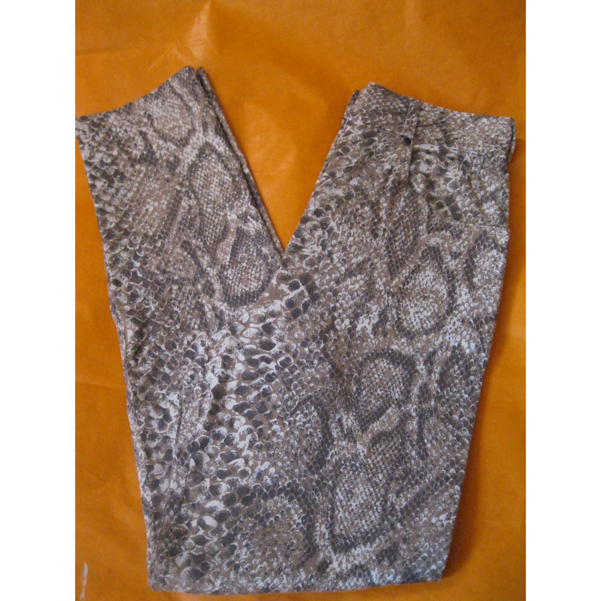 Pantalon droit IVAN & MARZIA Imprimés animaliers