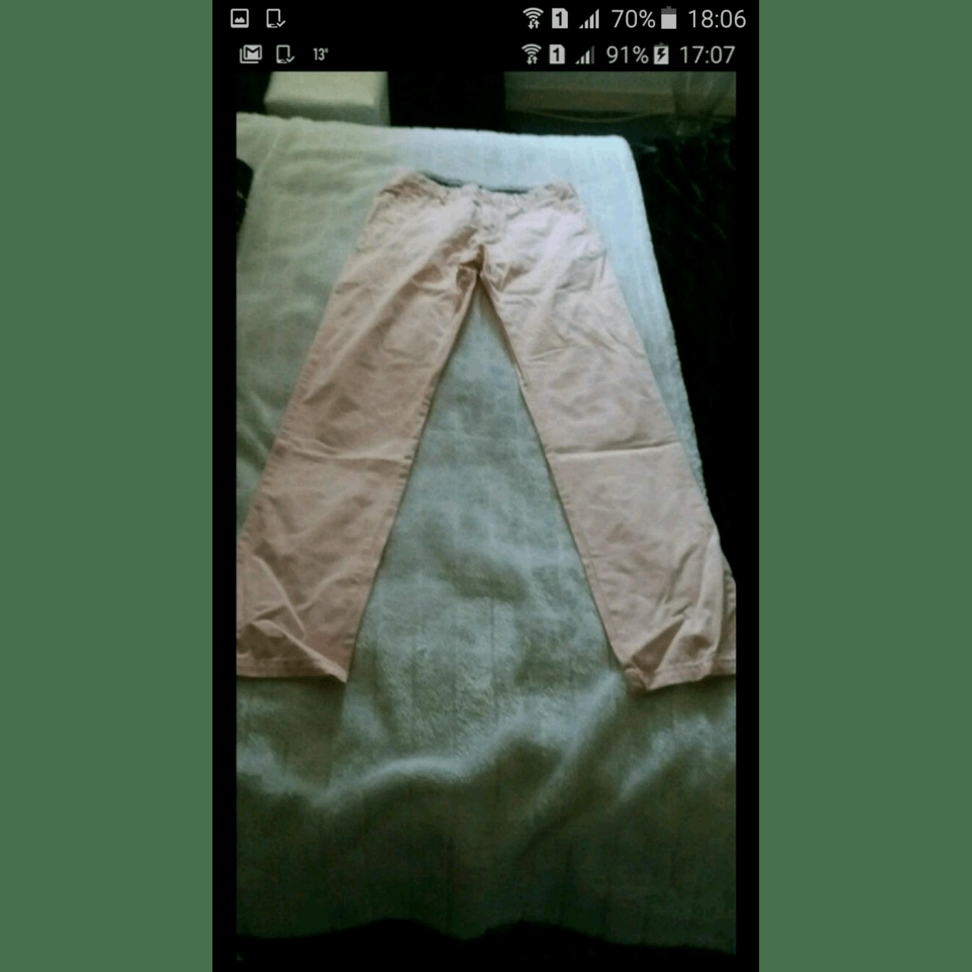 Pantalon droit TOMMY HILFIGER Rose, fuschia, vieux rose