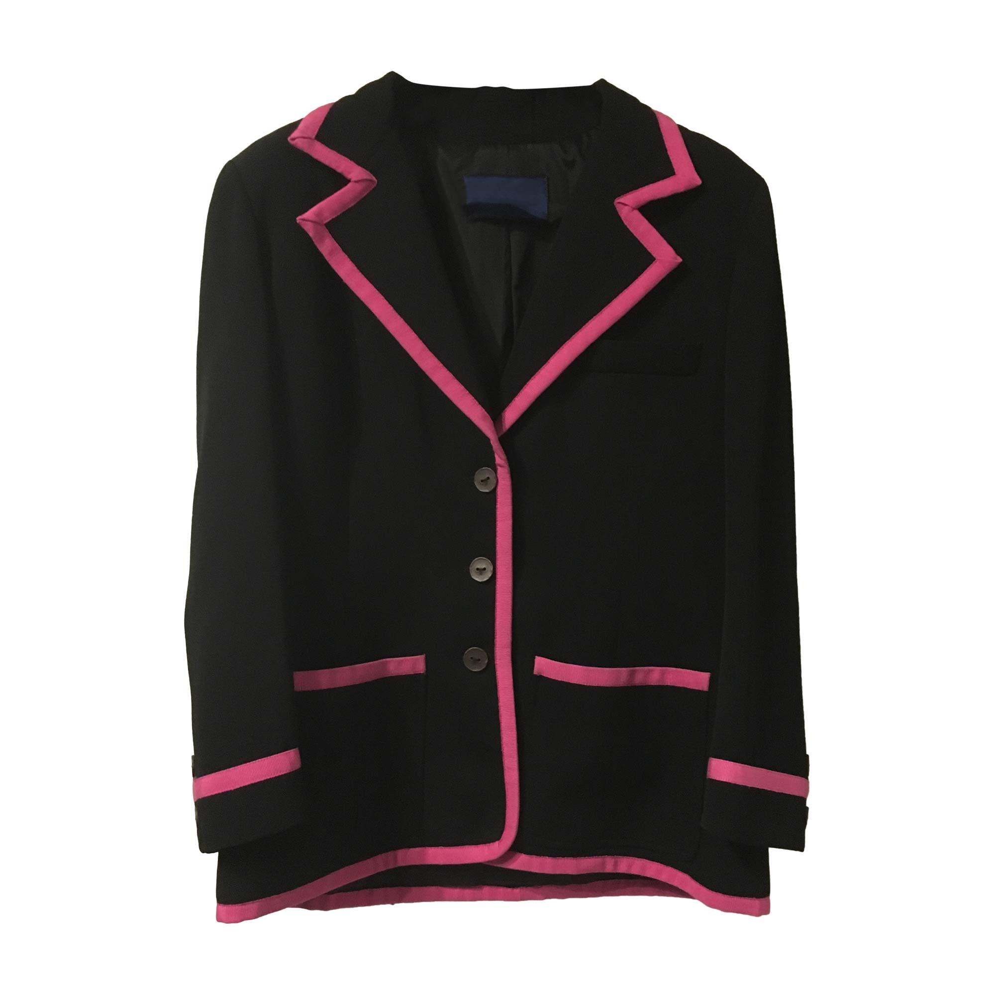 Blazer, veste tailleur BALMAIN Noir