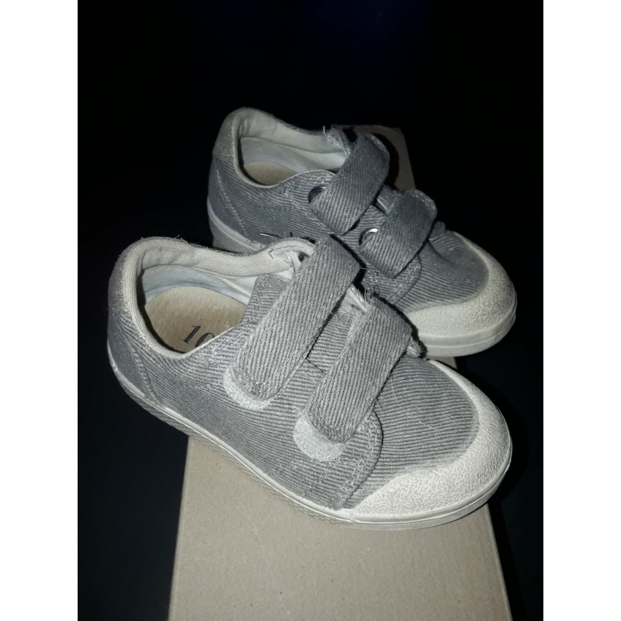 Chaussures à scratch 10 IS Gris, anthracite