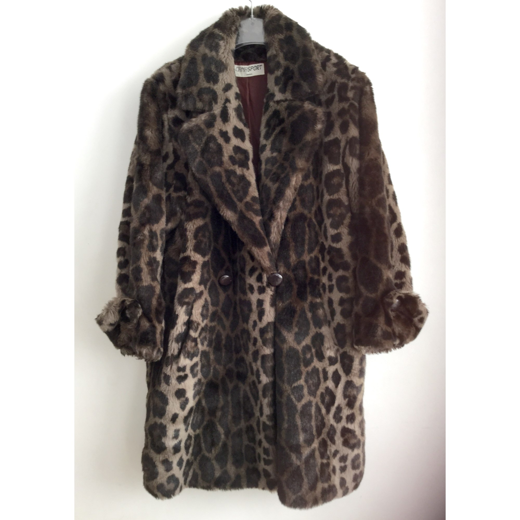 Manteau en fourrure CANASPORT Imprimés animaliers