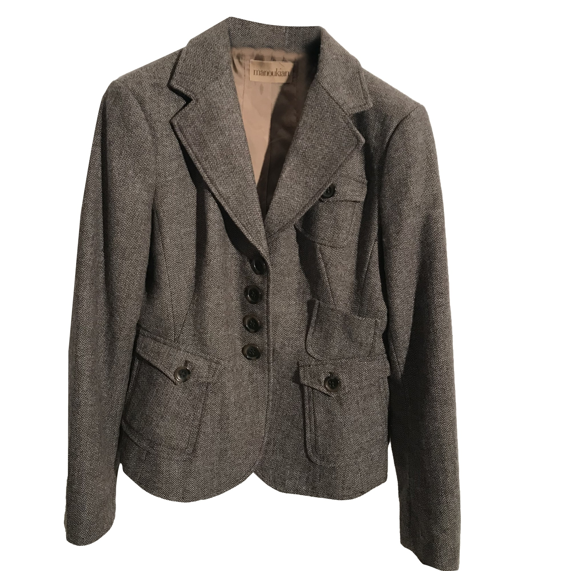 Blazer, veste tailleur ALAIN MANOUKIAN Marron