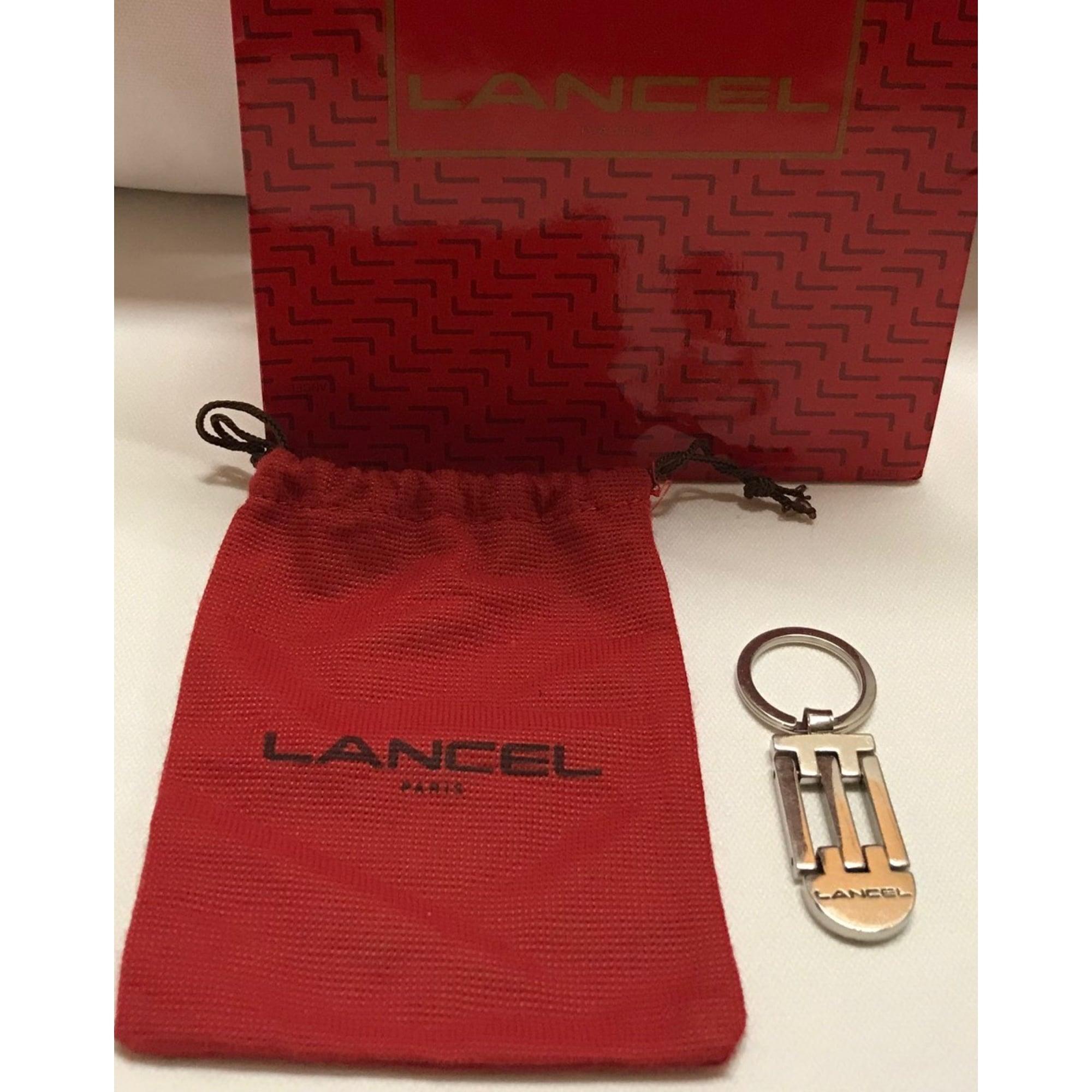 Porte-clés LANCEL Argenté, acier