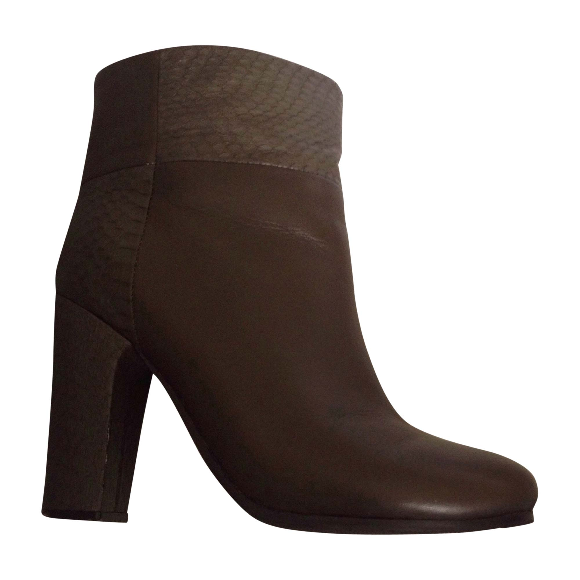 Bottines & low boots à talons SEE BY CHLOE Marron