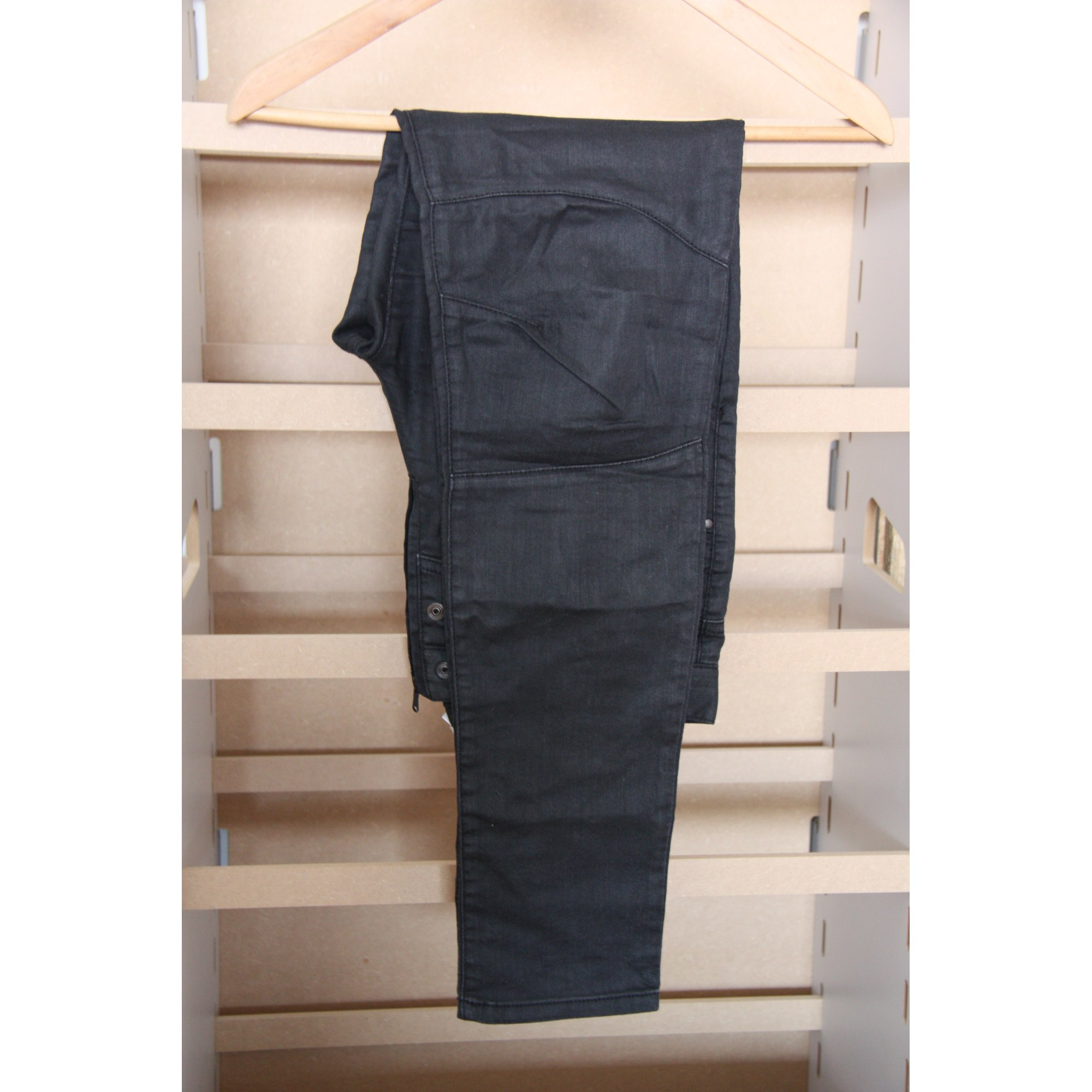 Pantalon droit DIESEL Noir