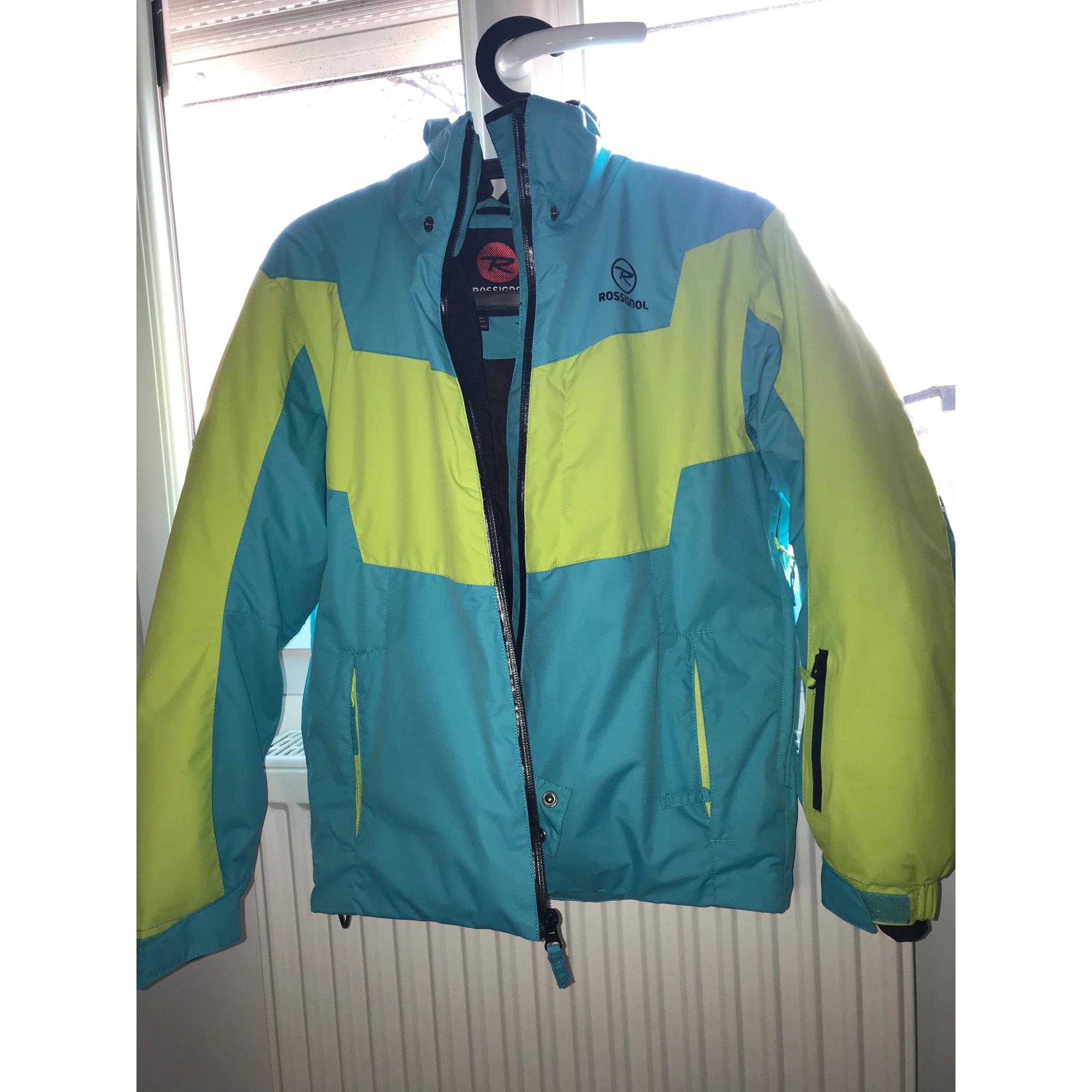 Blouson de ski ROSSIGNOL Bleu, bleu marine, bleu turquoise