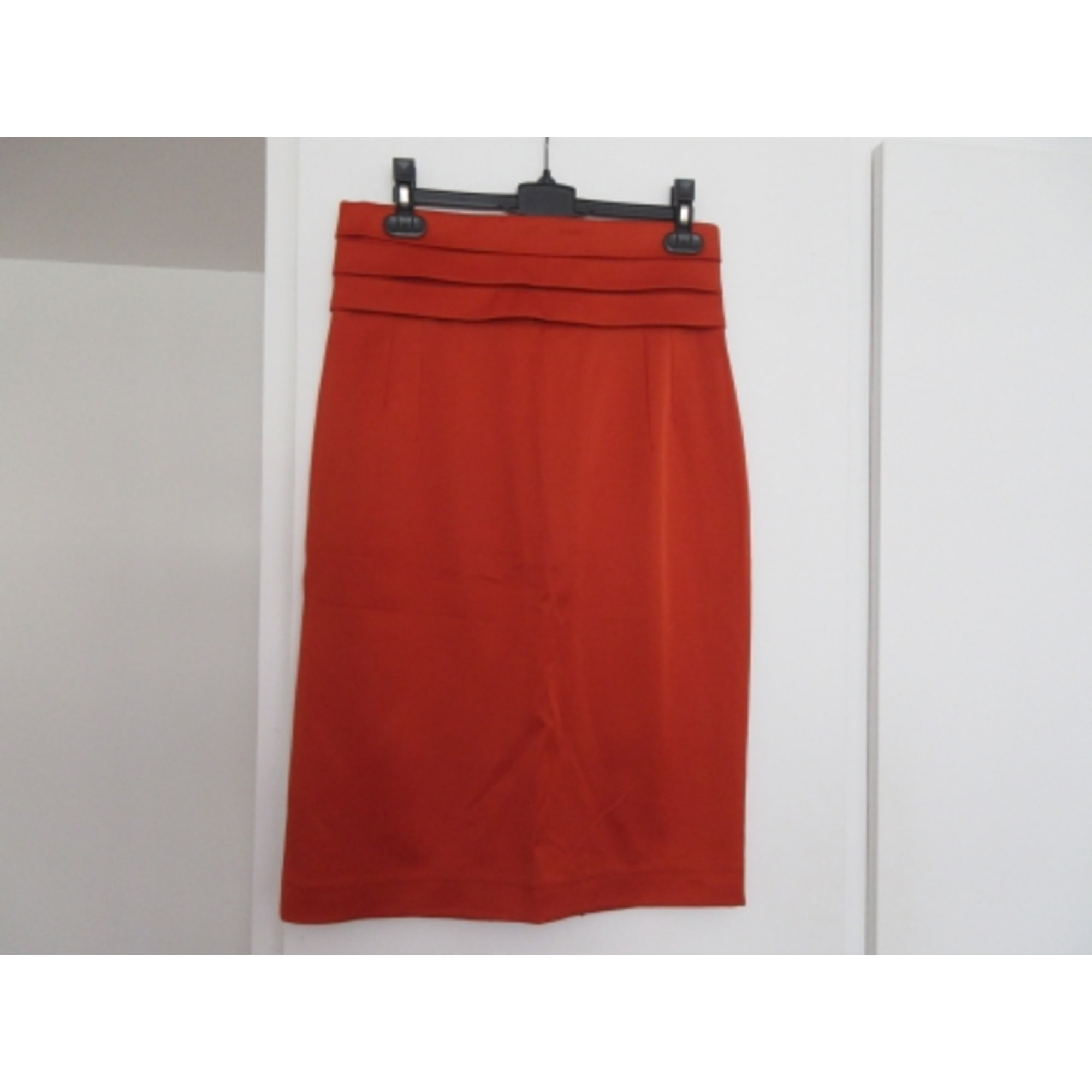 Jupe mi-longue SMF Orange