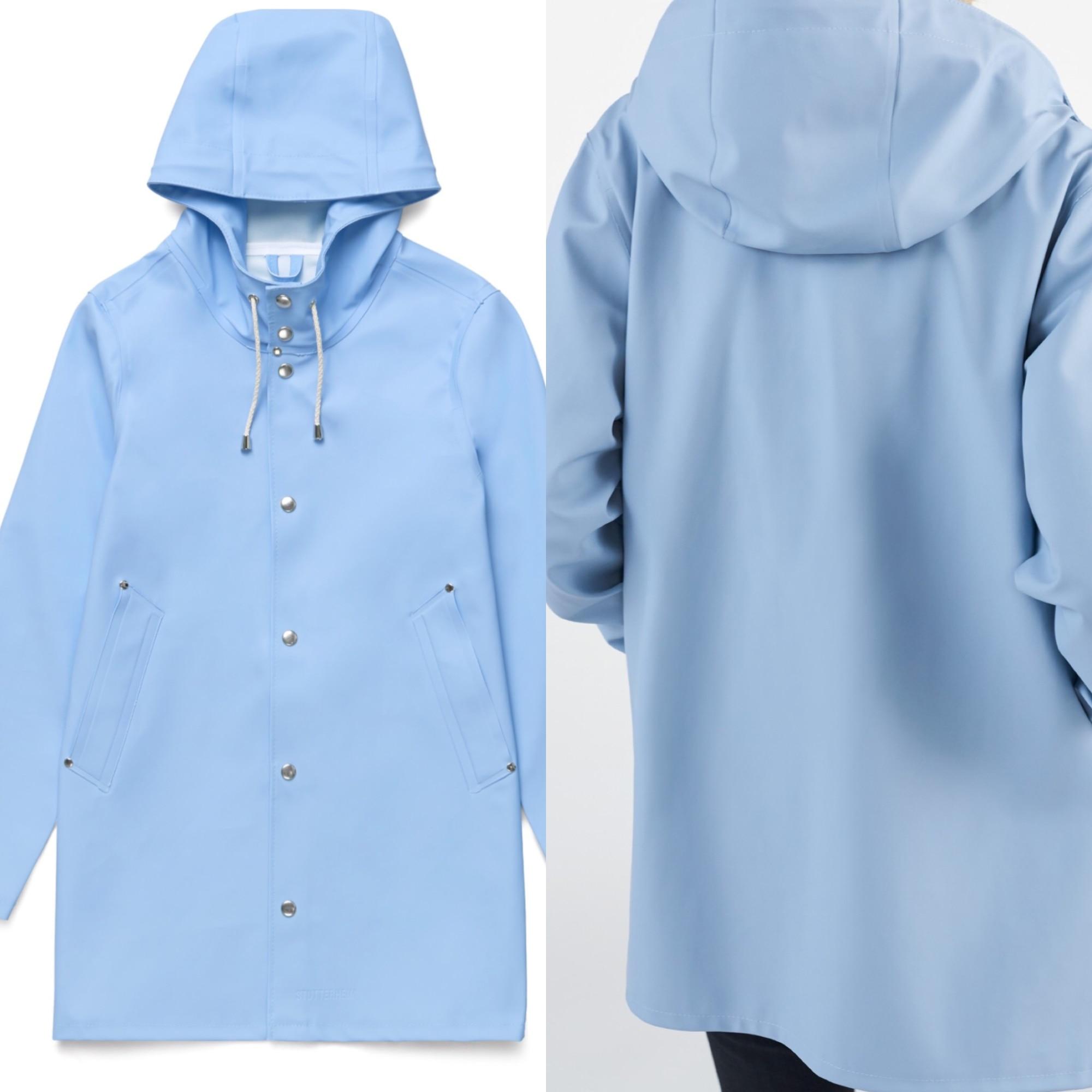 Imperméable, trench STUTTERHEIM Bleu, bleu marine, bleu turquoise
