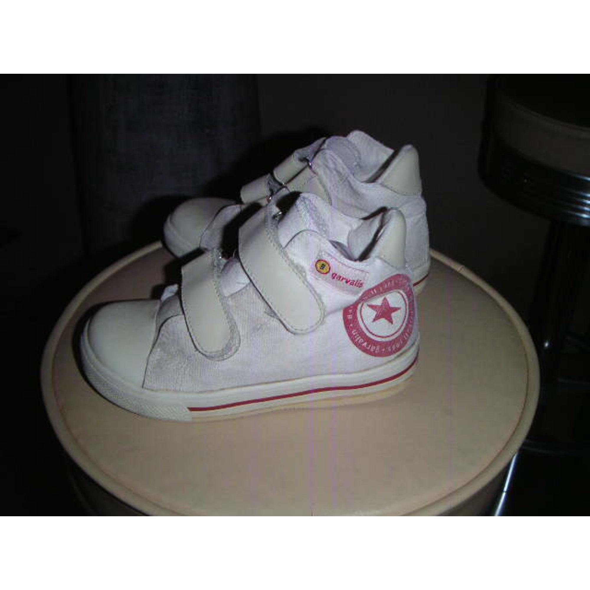 Velcro Shoes GARVALIN Beige, camel