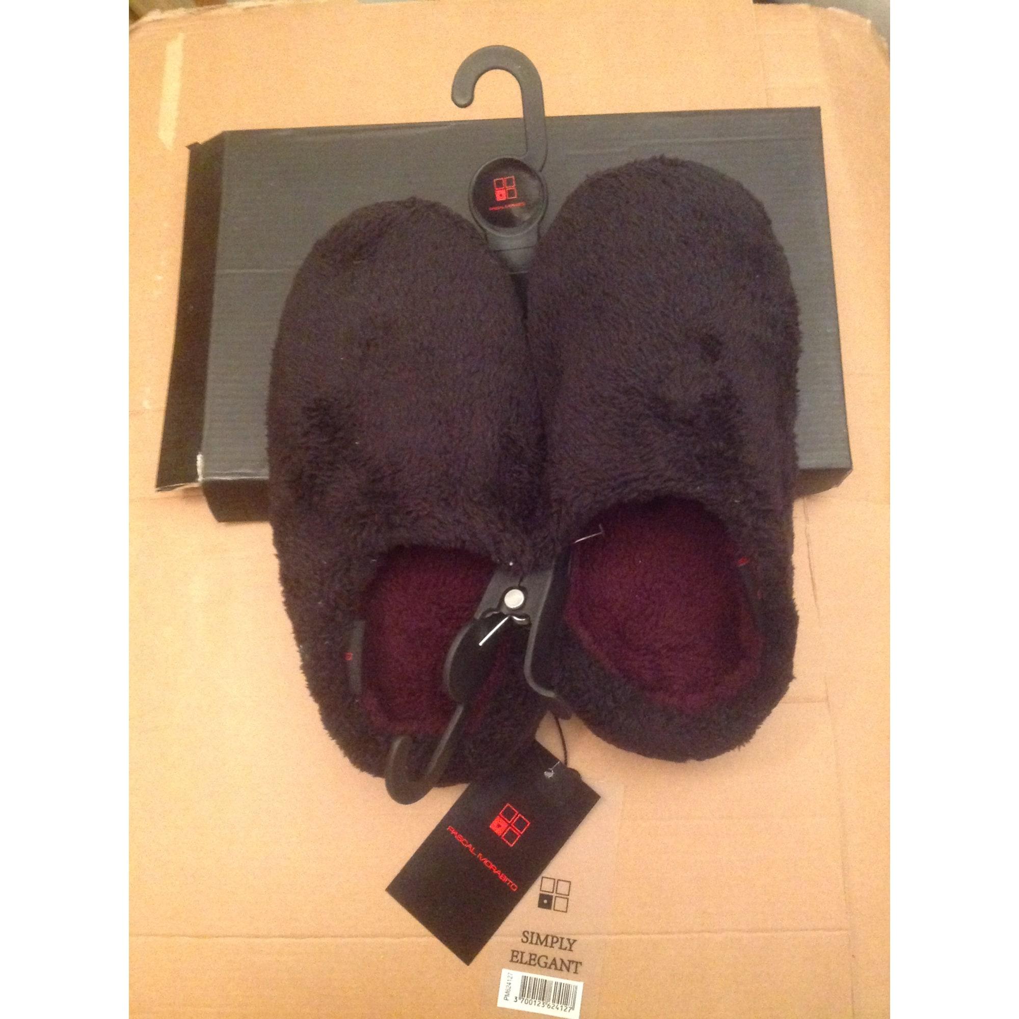 Chaussons & pantoufles PASCAL MORABITO Noir