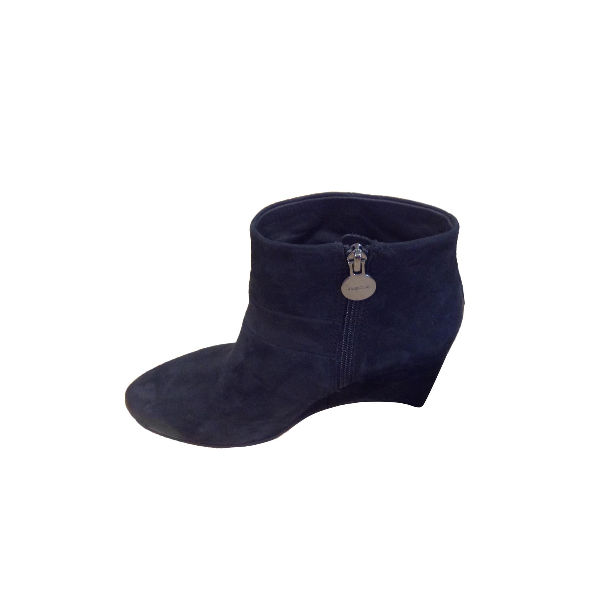 Bottines & low boots à compensés GEOX Noir
