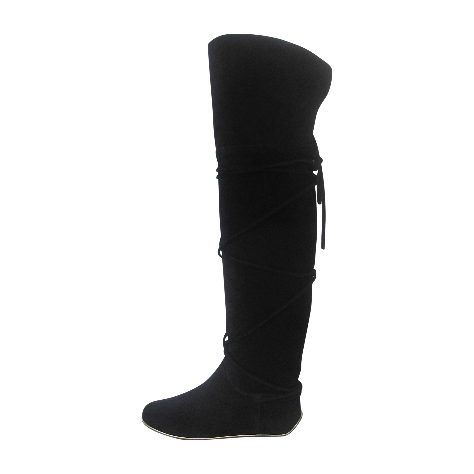 Bottes cuissards SERGIO ROSSI Noir