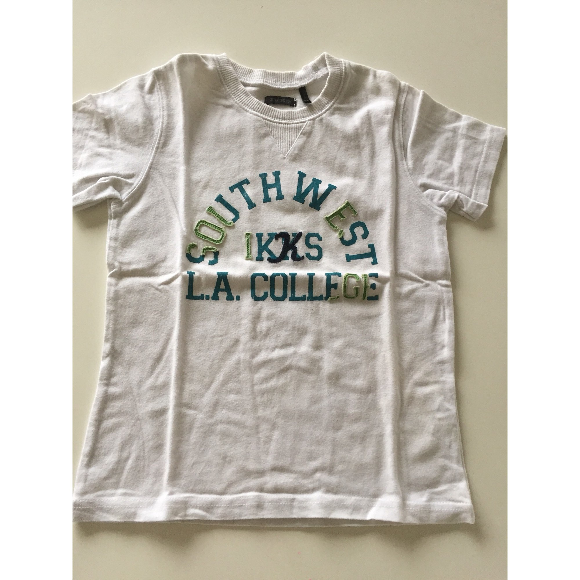 Tee-shirt IKKS Blanc, blanc cassé, écru