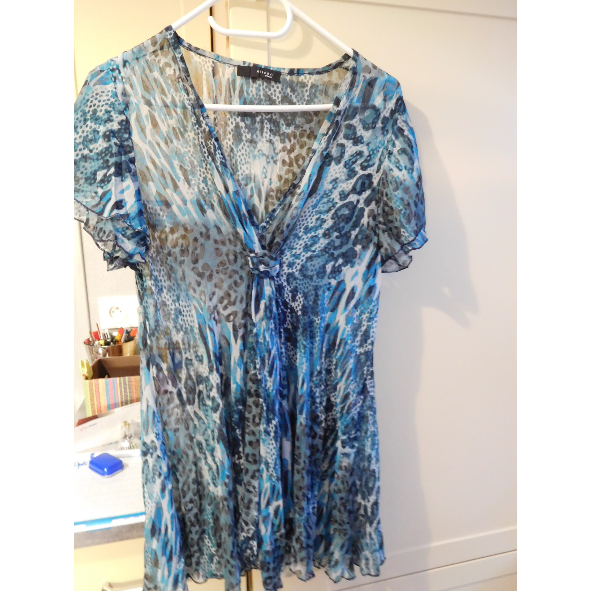Chemise ALISON Bleu, bleu marine, bleu turquoise