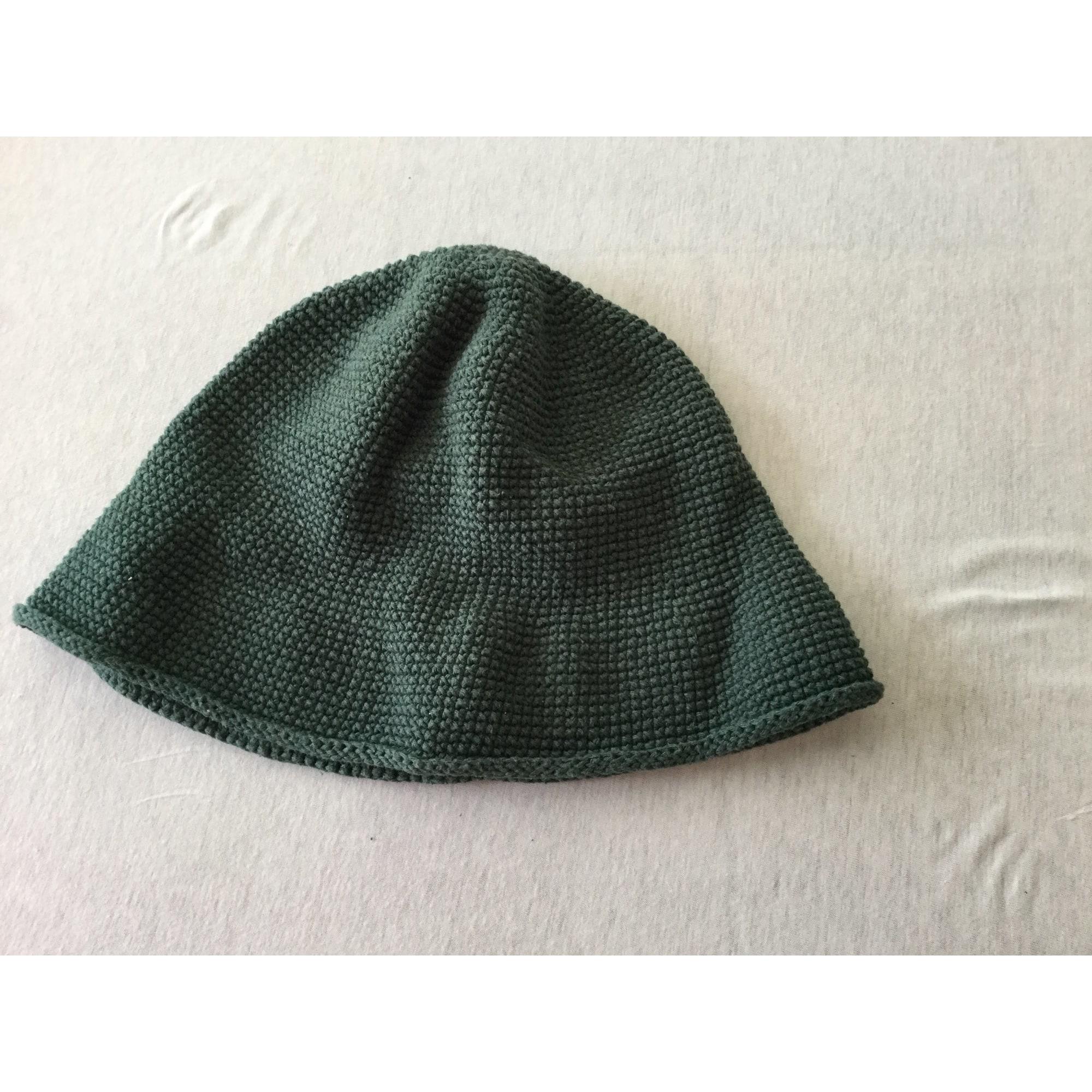 Chapeau MARQUE INCONNUE Vert