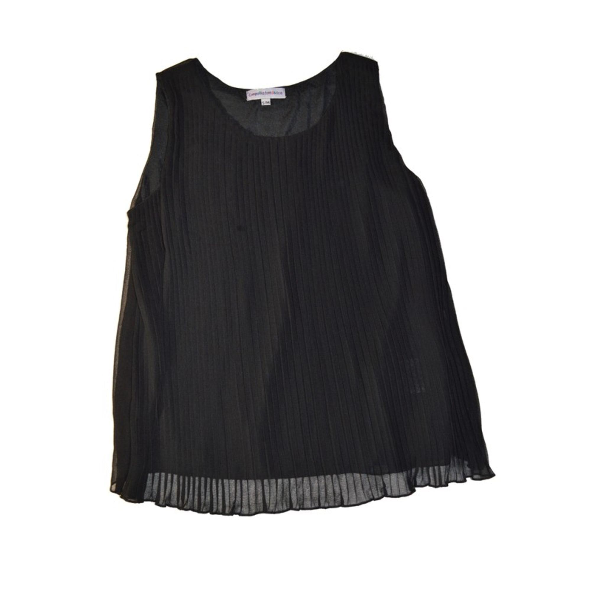 Top, tee-shirt COMPANIA FANTASTICA Noir