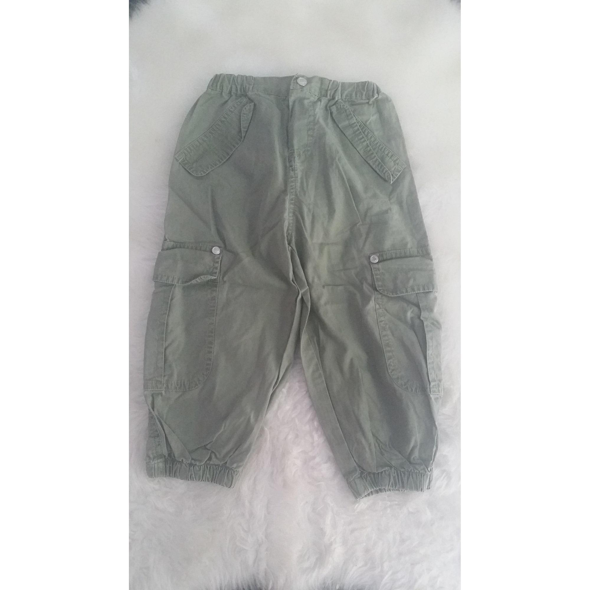 Pantalon PETIT BATEAU Kaki