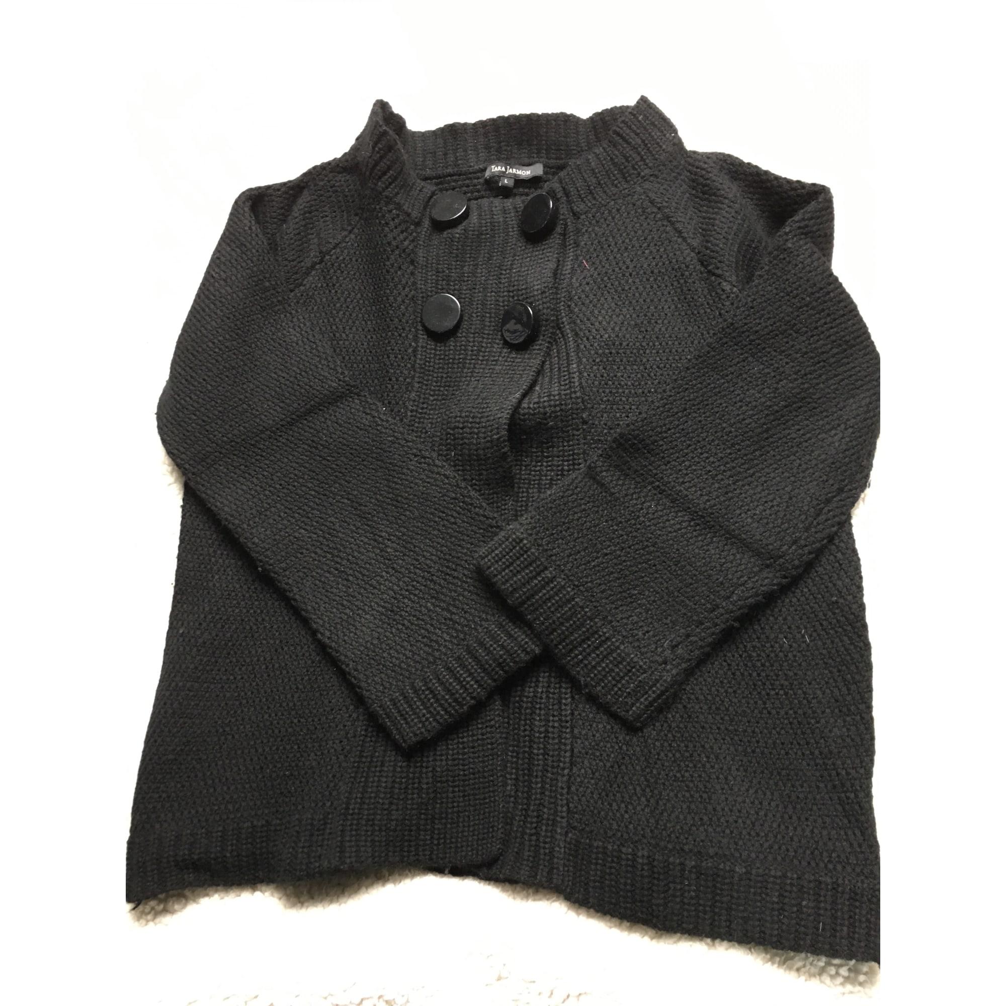 Gilet, cardigan TARA JARMON Noir