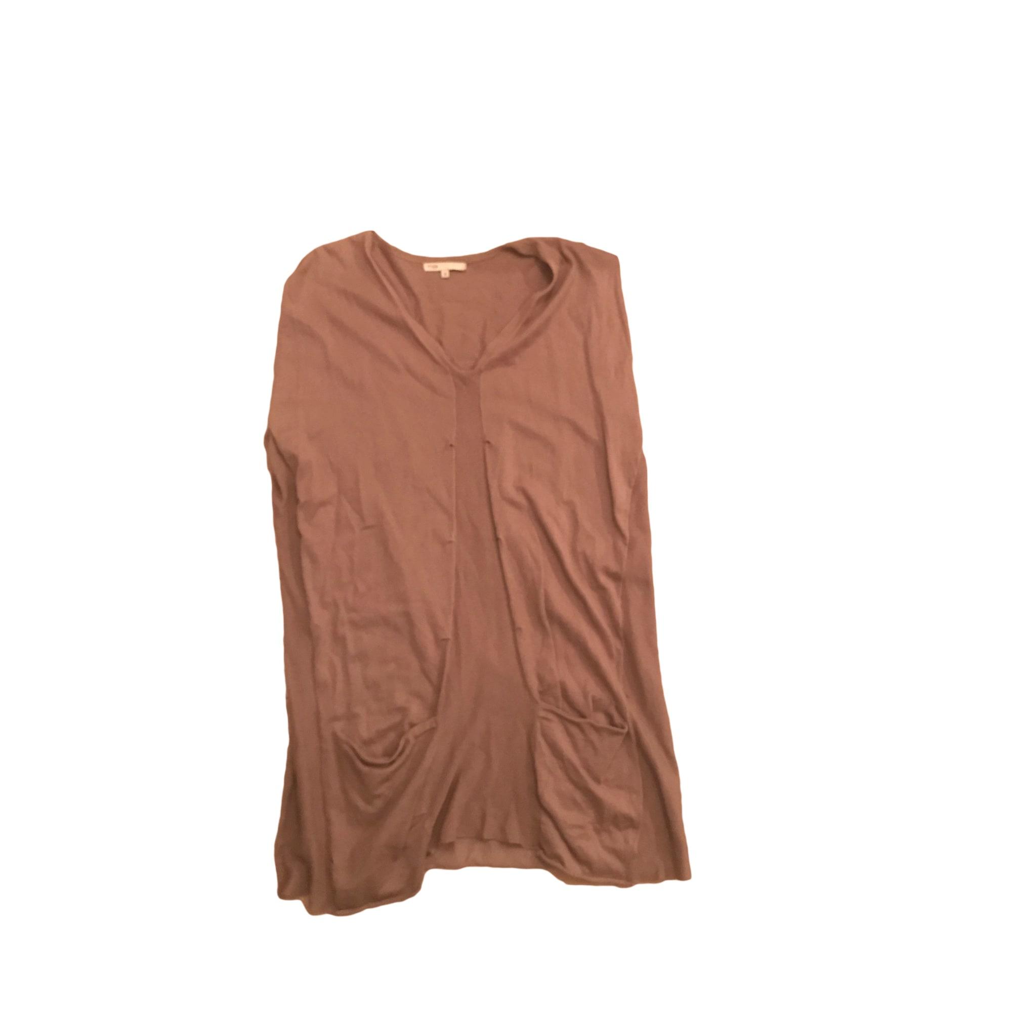 Robe pull MAJE Beige, camel