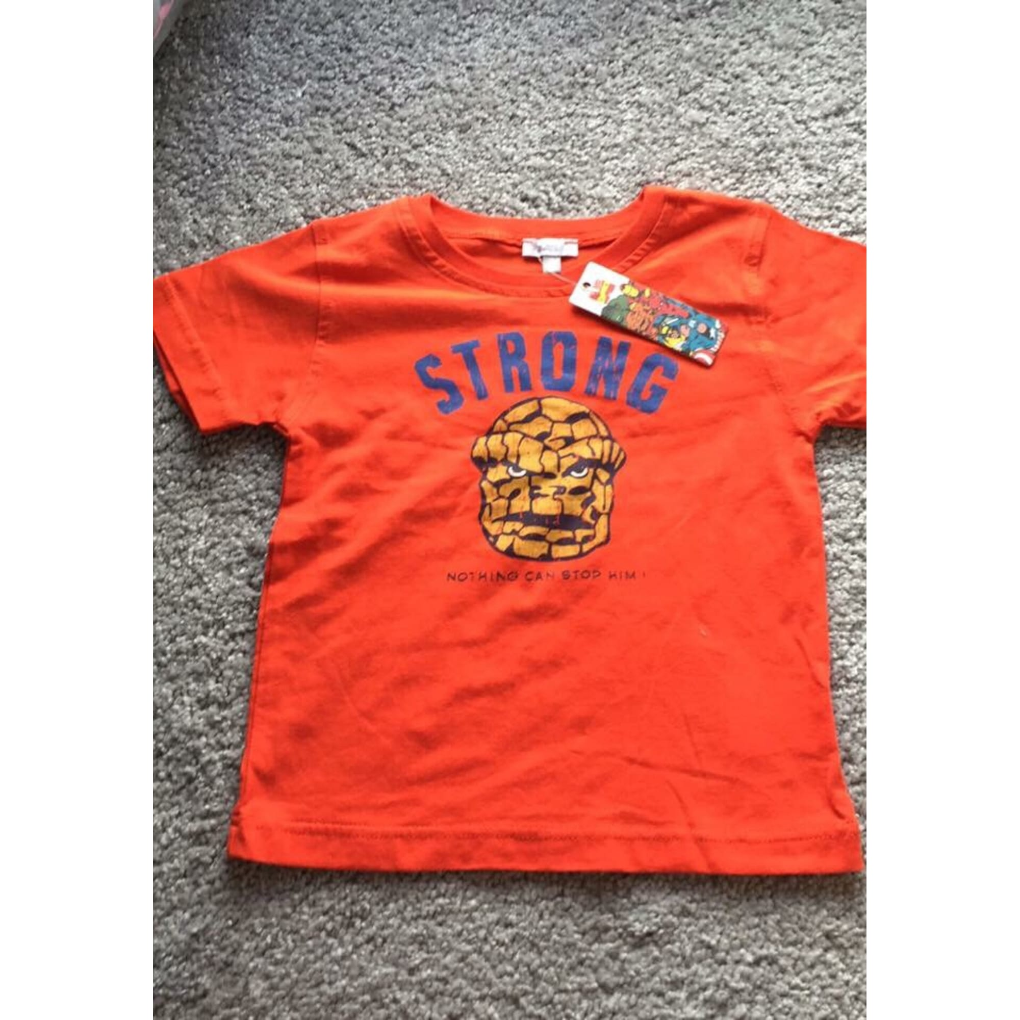 Top, tee shirt ABSORBA Orange