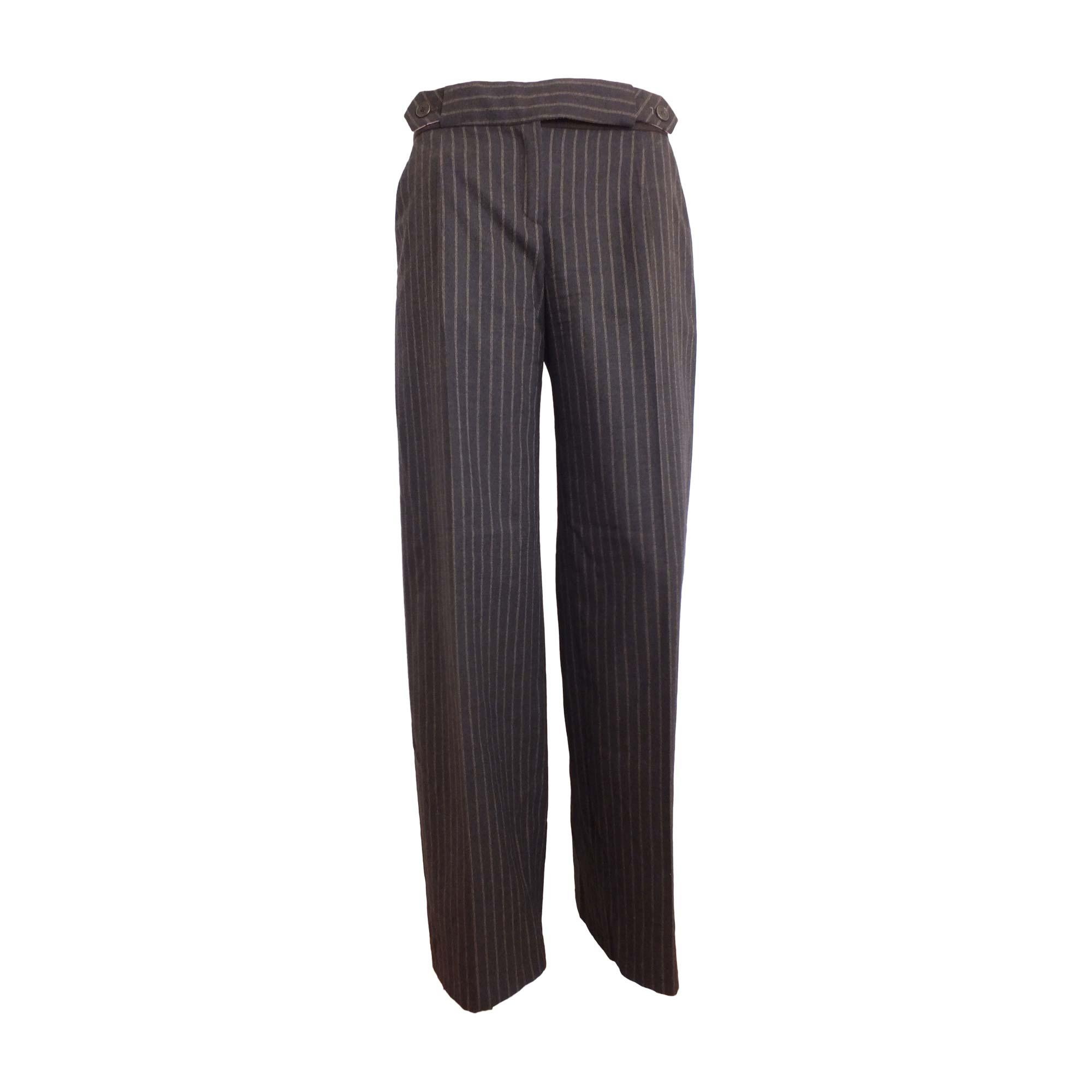 Pantalon large KENZO Marron