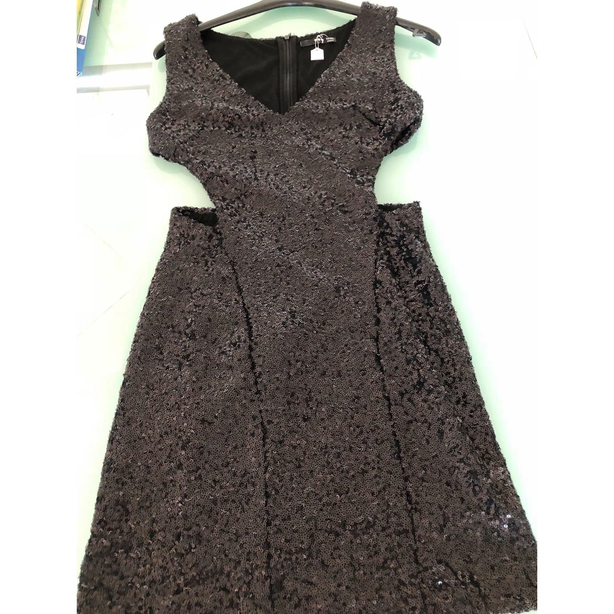 Robe courte T.F.N.C Noir