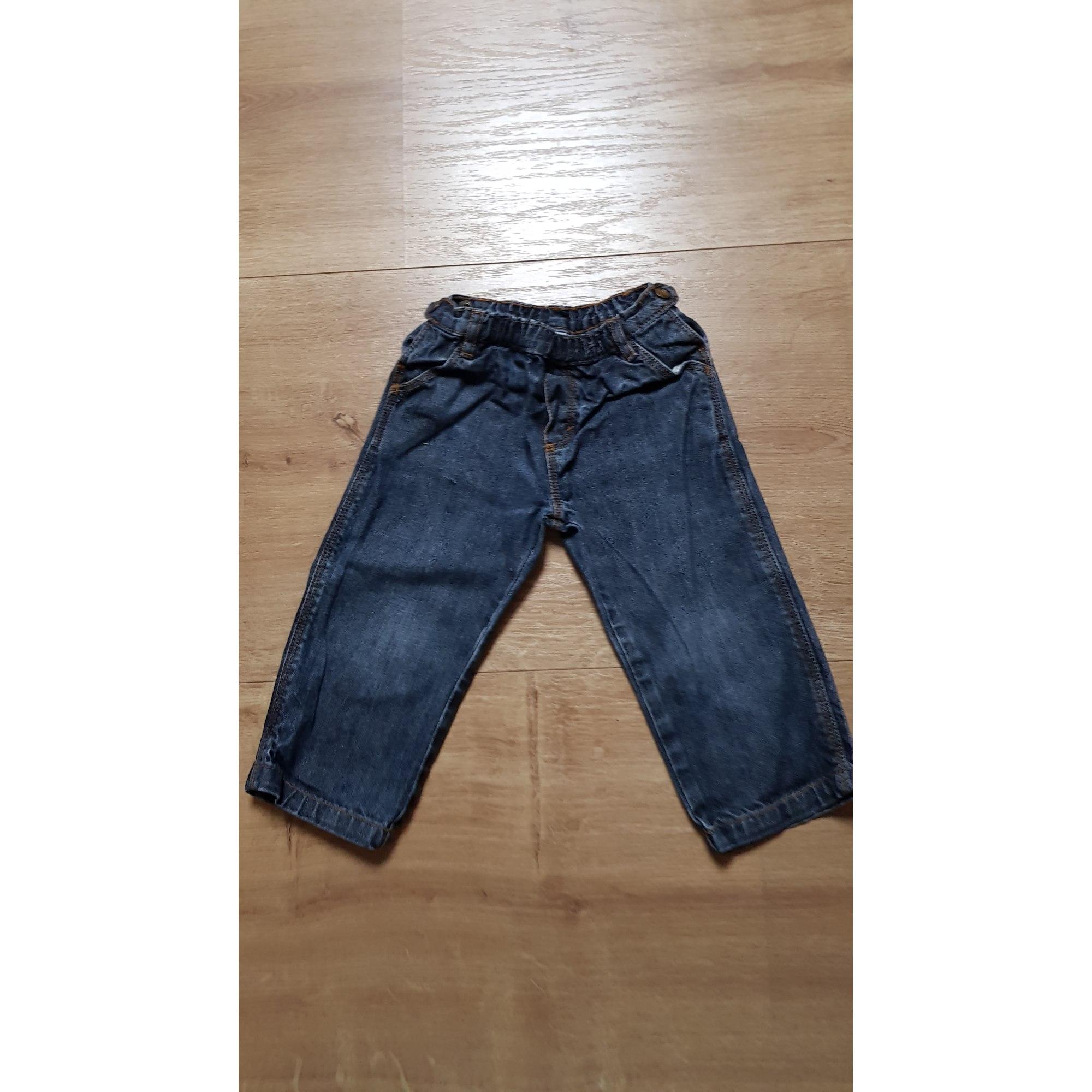 Pantalon PETIT BATEAU Bleu, bleu marine, bleu turquoise