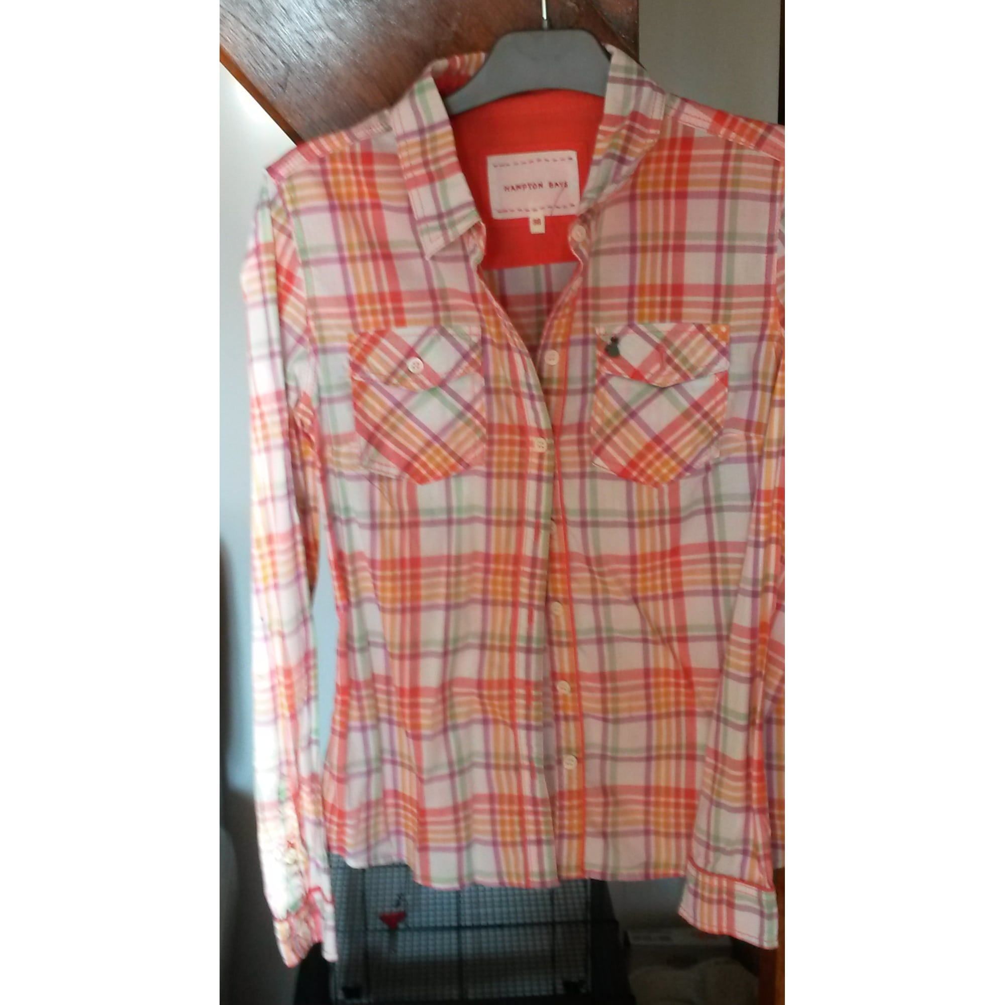 Chemise HAMPTON BAYS Orange