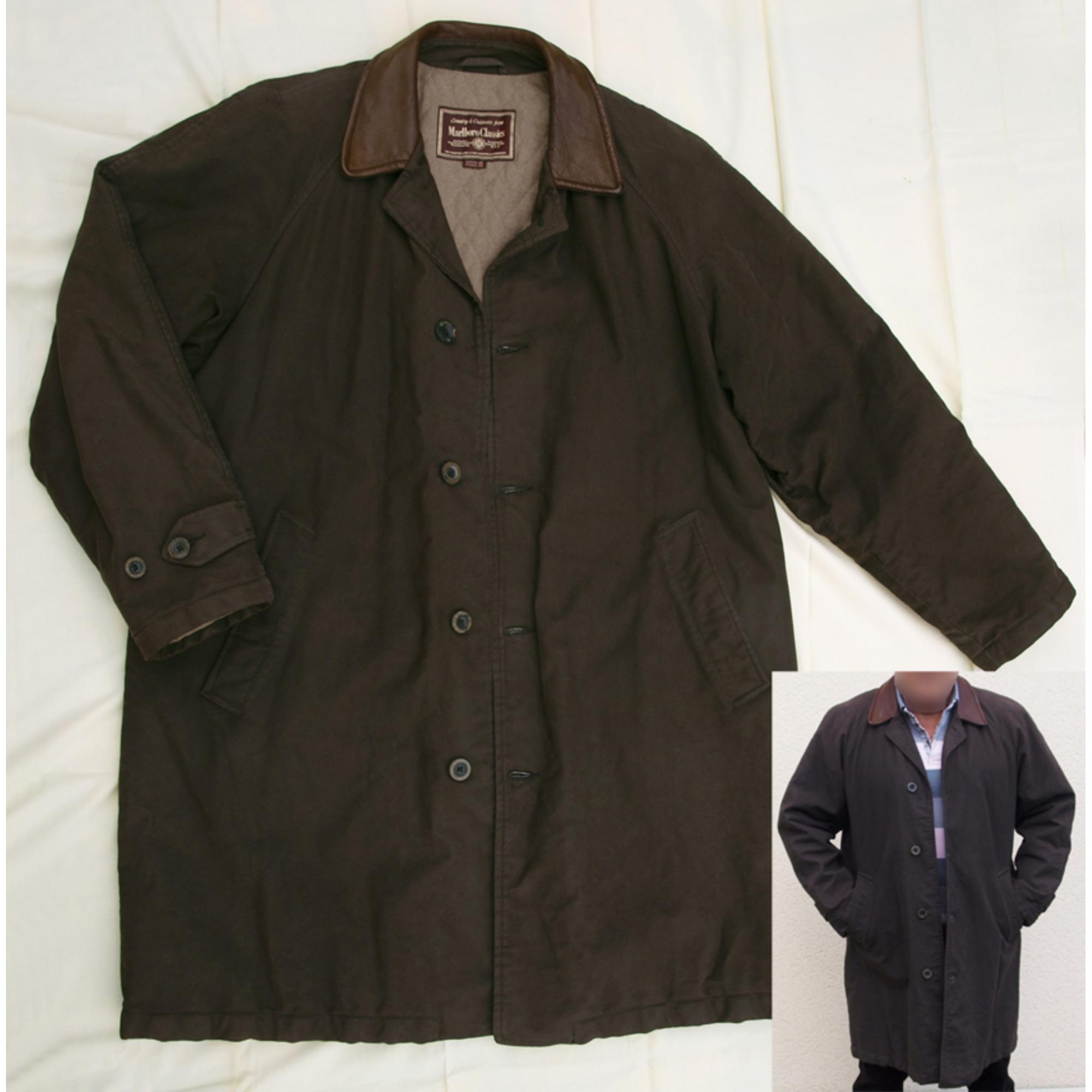 Manteau MARLBORO CLASSICS 52 (L) marron vendu par Forgues d