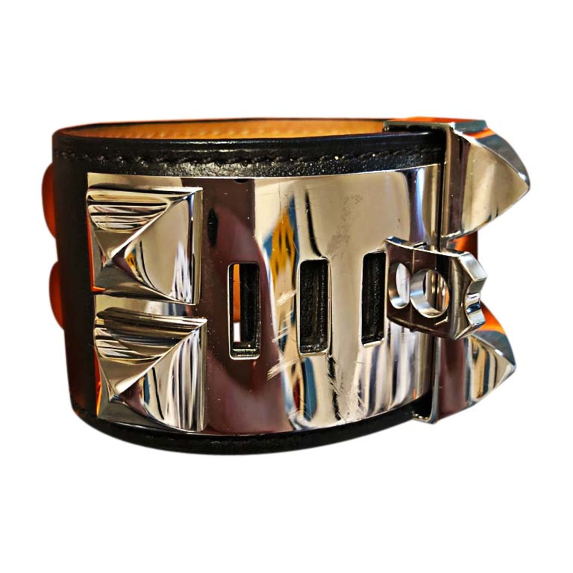 Bracelet HERMÈS Collier de Chien Black