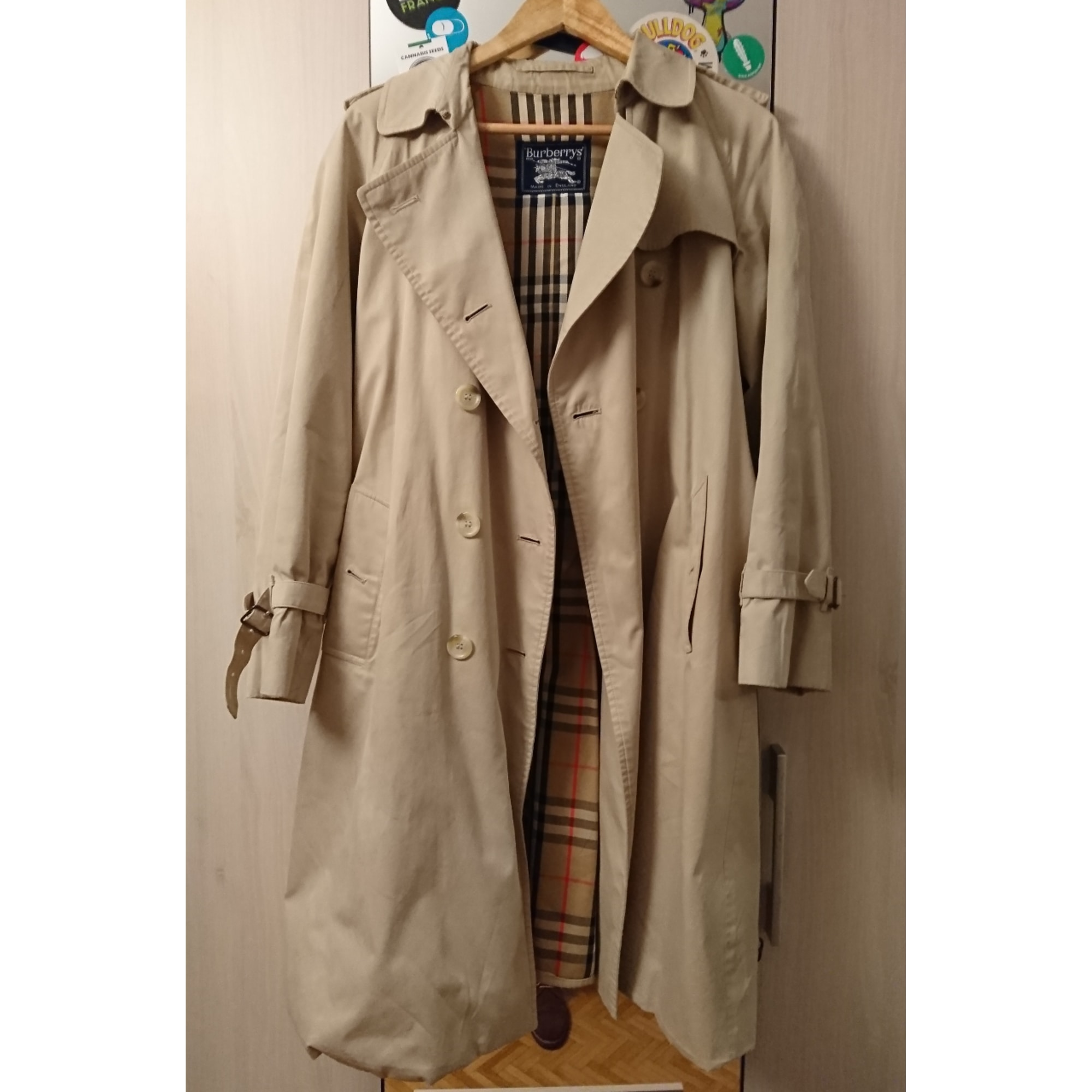 Imperméable, trench BURBERRY 48 (M) blanc 7509891