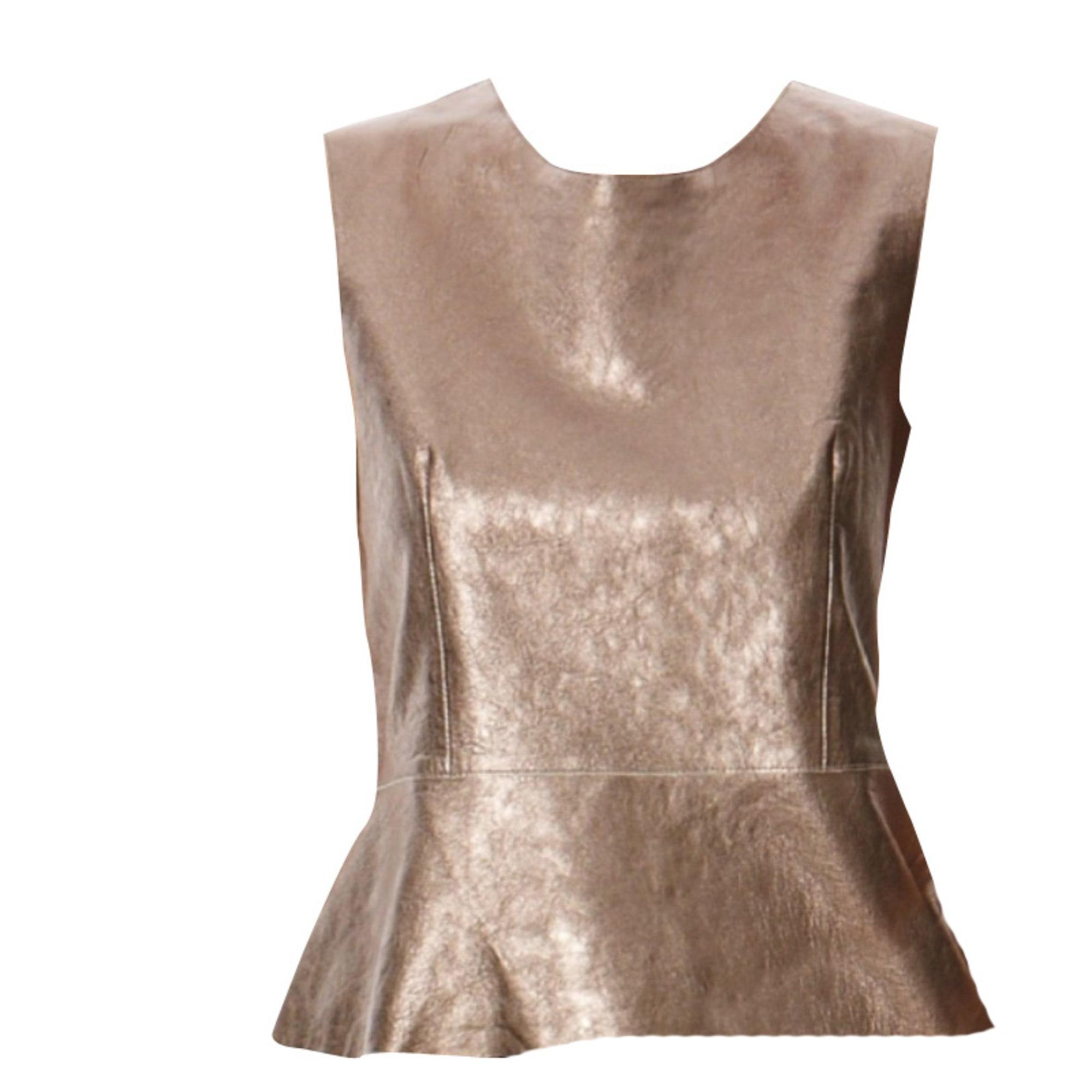 Top, tee-shirt GERARD DAREL Doré, bronze, cuivre