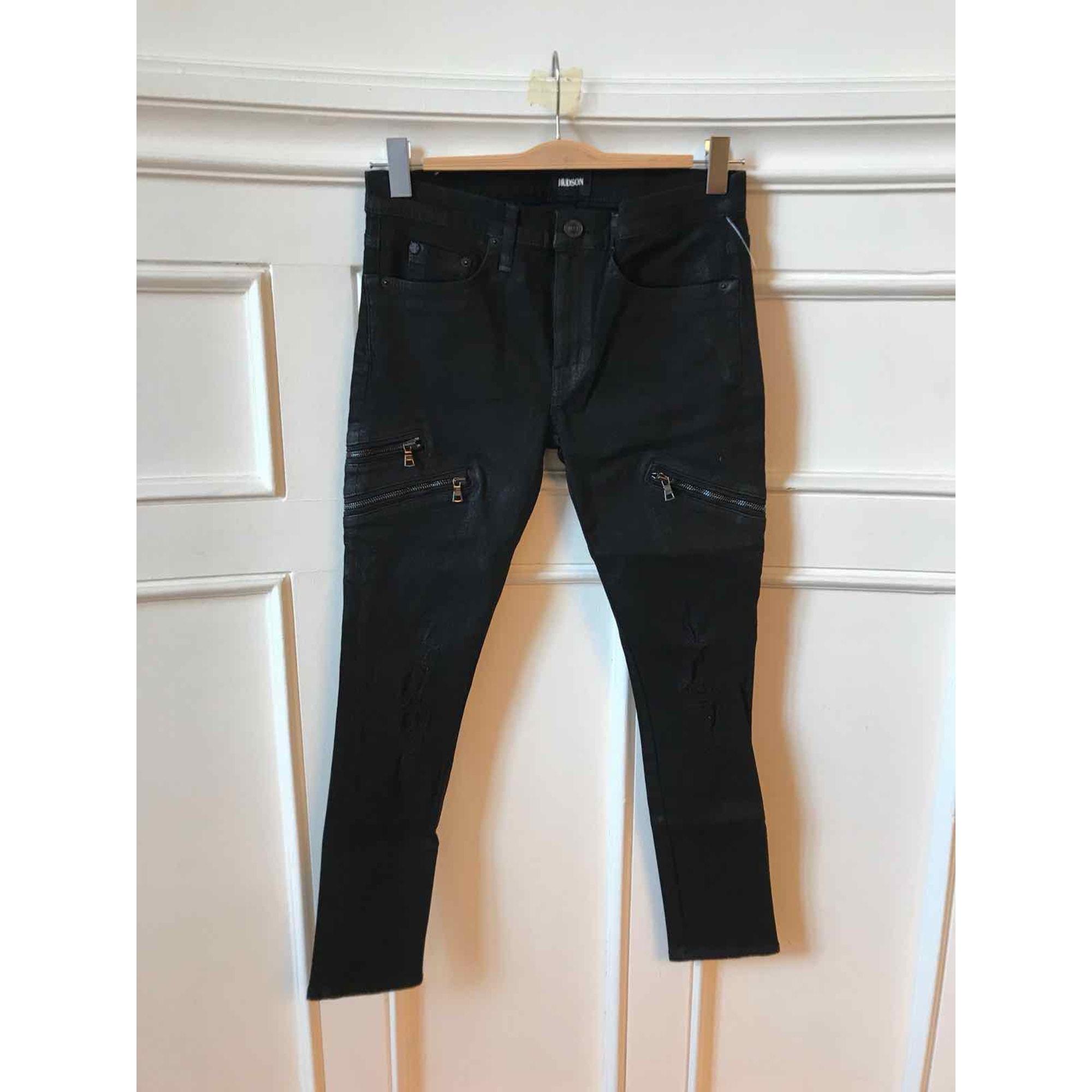 Jeans slim HUDSON JEANS Noir