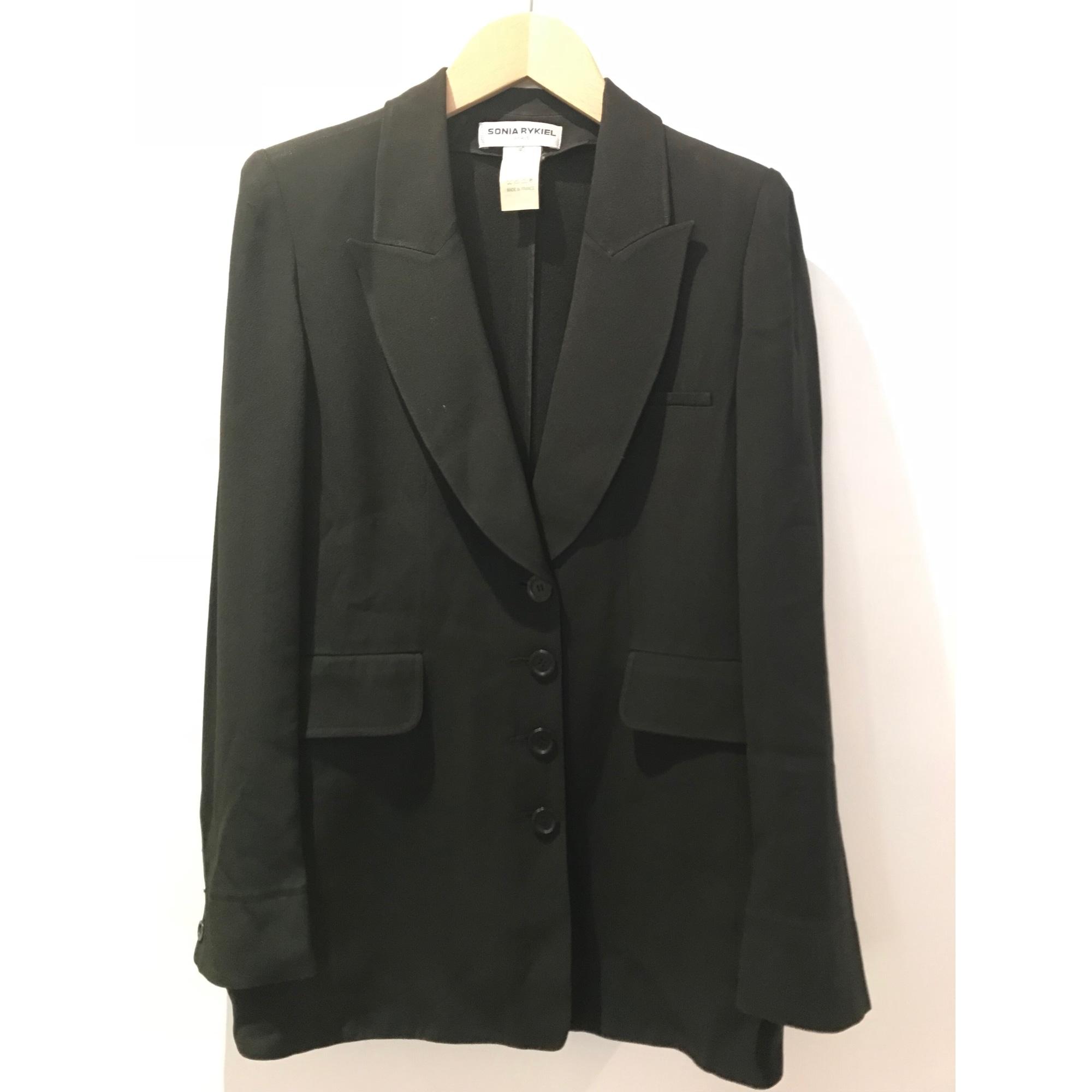 Blazer, veste tailleur SONIA RYKIEL Noir