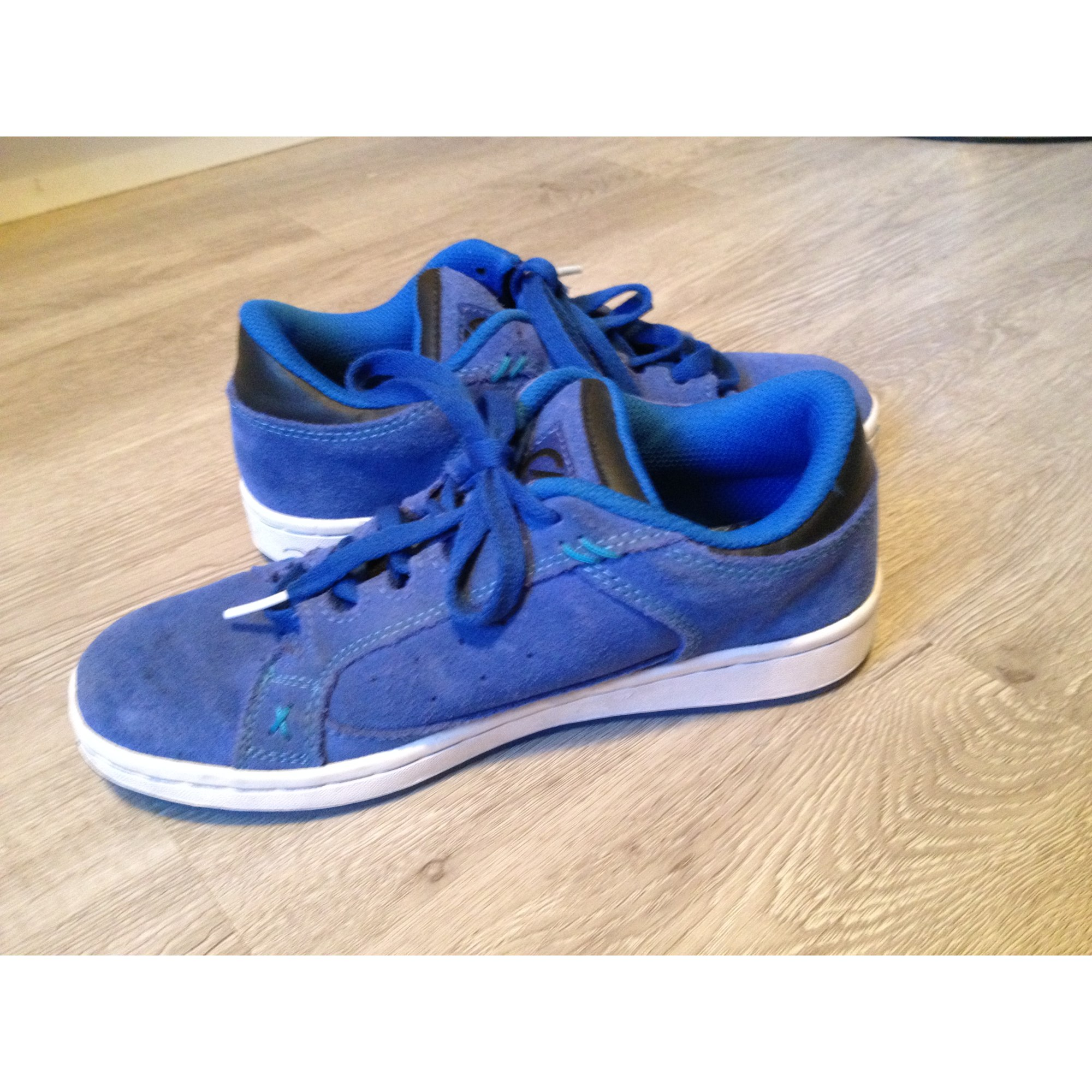 Baskets OXYLANE Bleu, bleu marine, bleu turquoise
