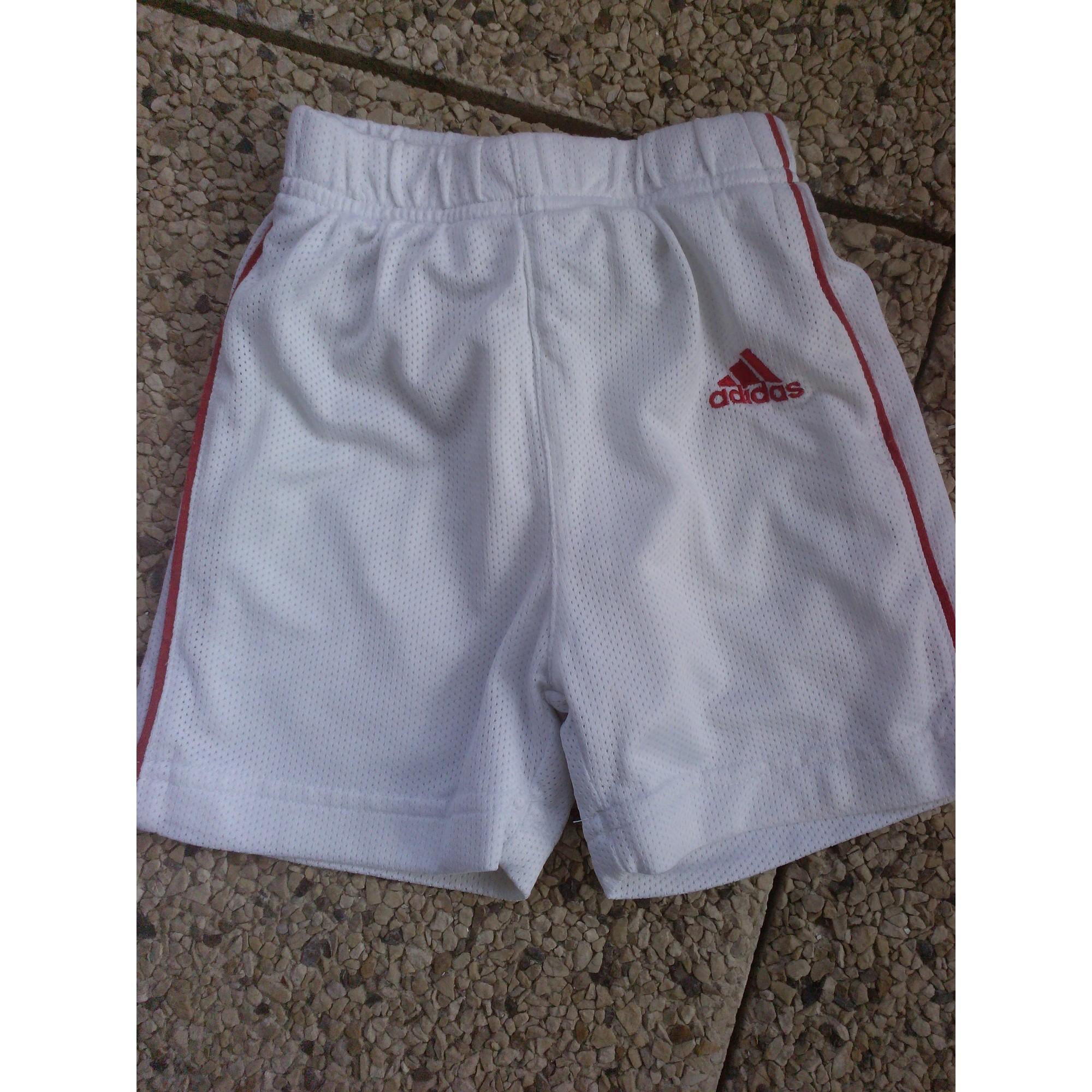 Shorts ADIDAS White, off-white, ecru