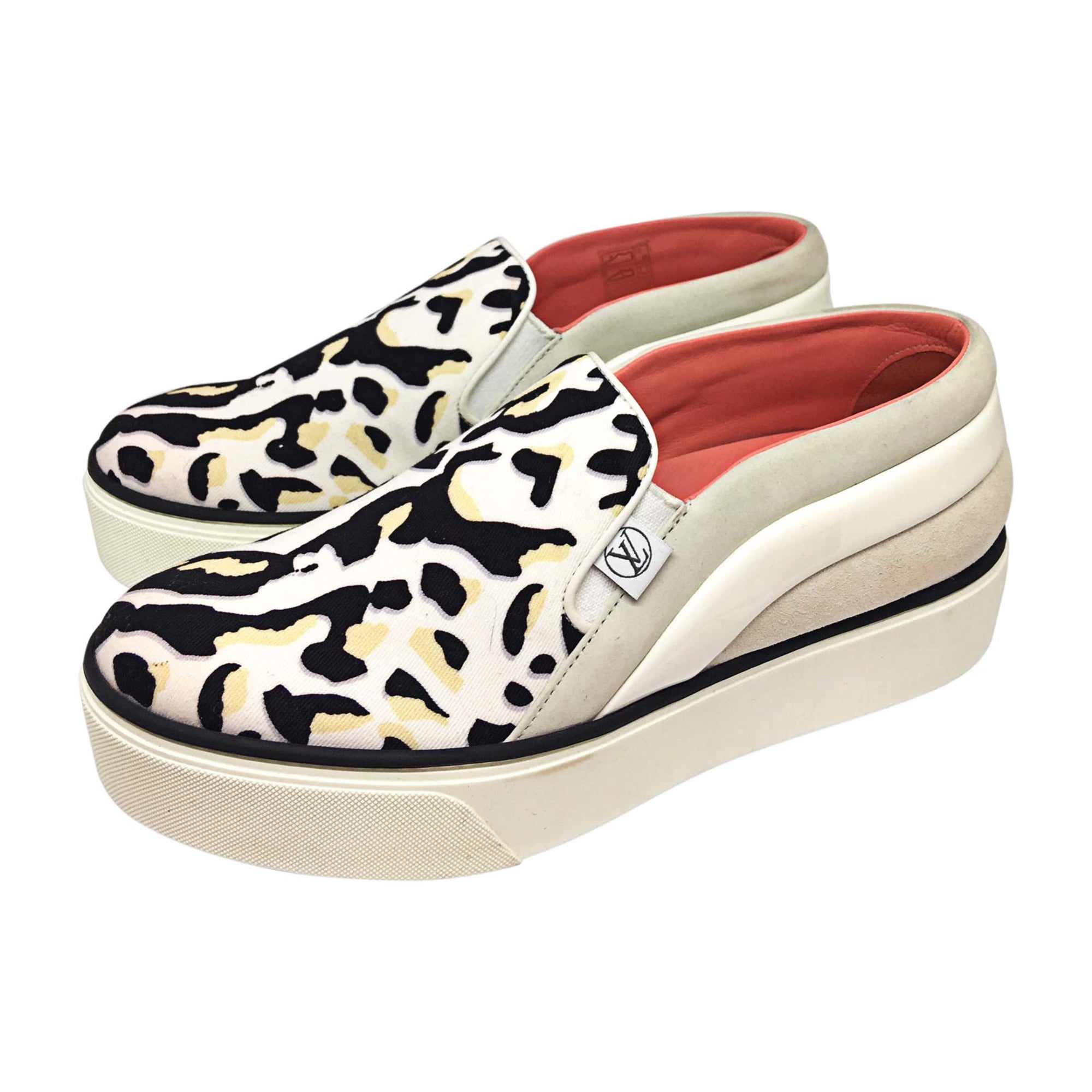 Loafers LOUIS VUITTON White, off-white, ecru