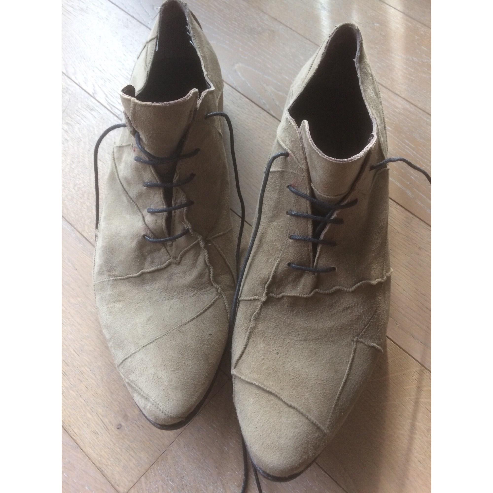 Chaussures à lacets MONDERER Gris, anthracite