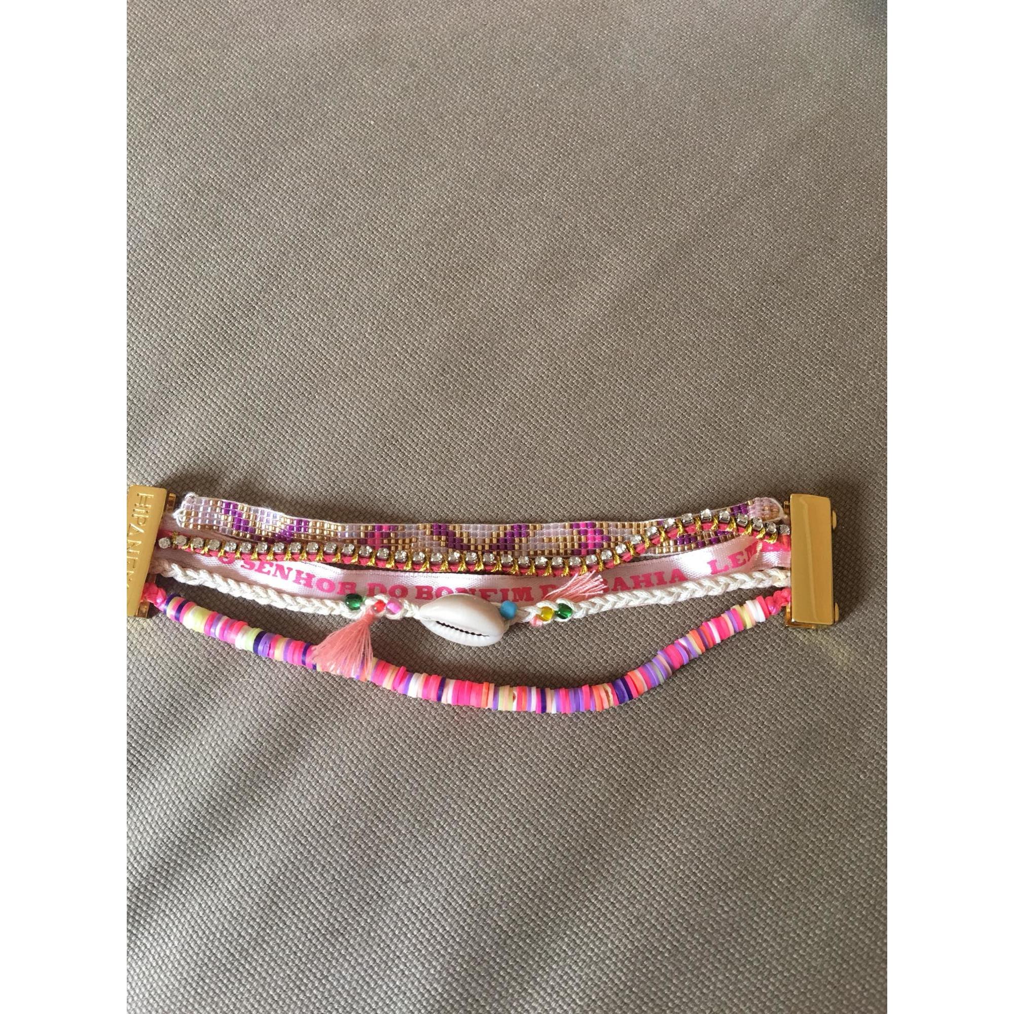 Bracelet HIPANEMA Doré, bronze, cuivre