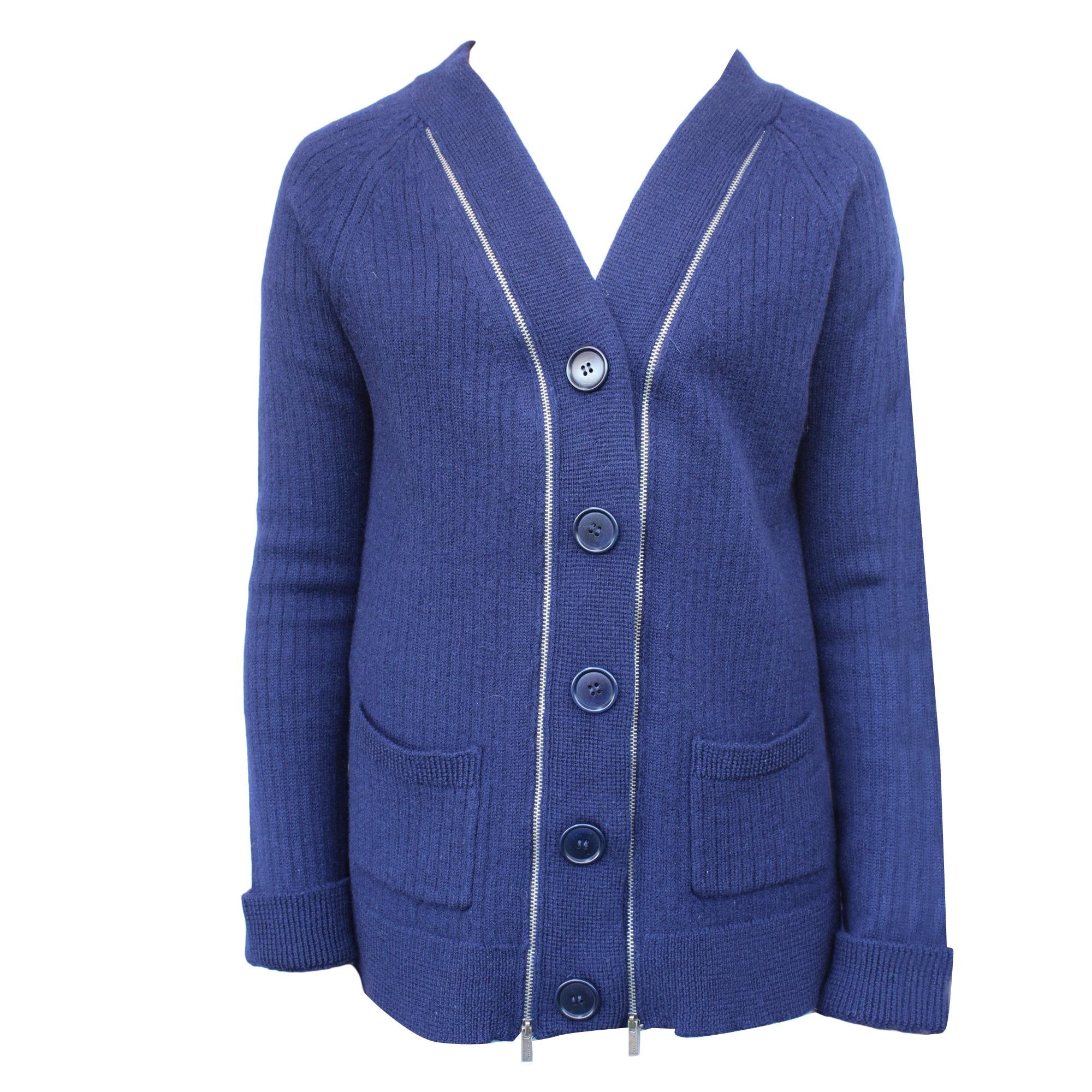 Gilet, cardigan BCBG MAX AZRIA Bleu, bleu marine, bleu turquoise