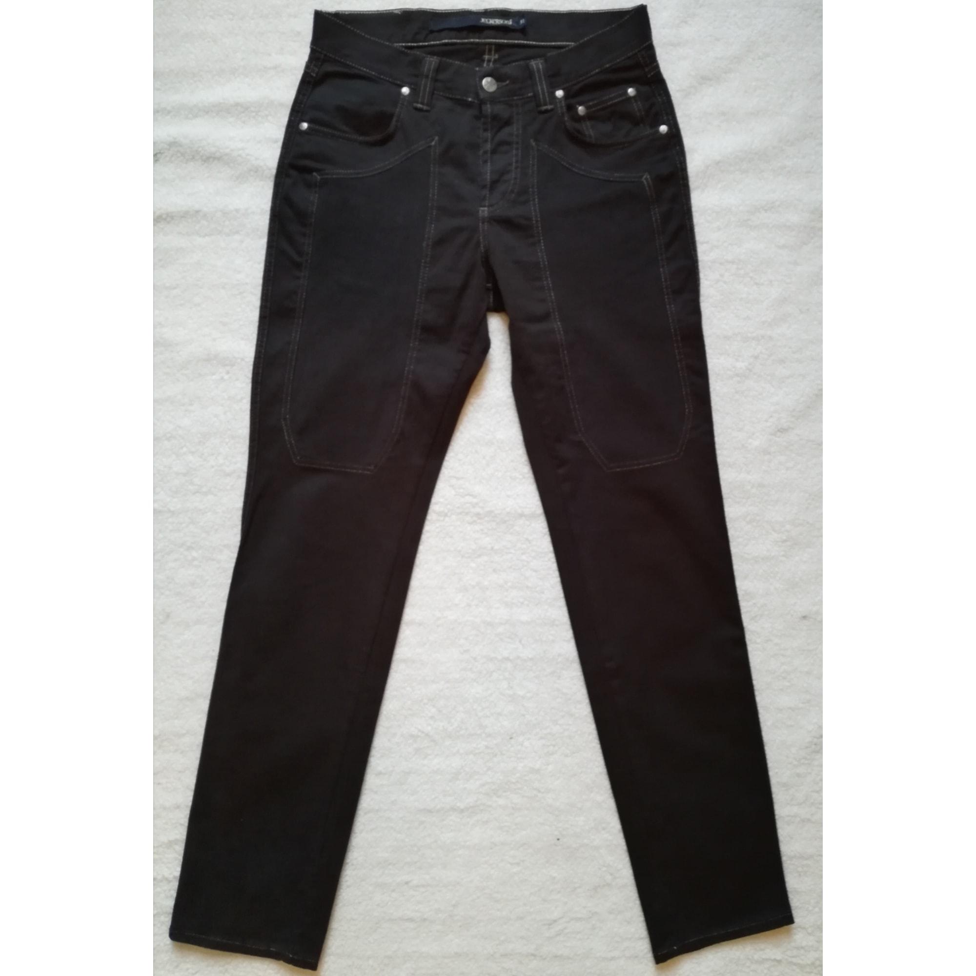 Pantalon slim JECKERSON Noir