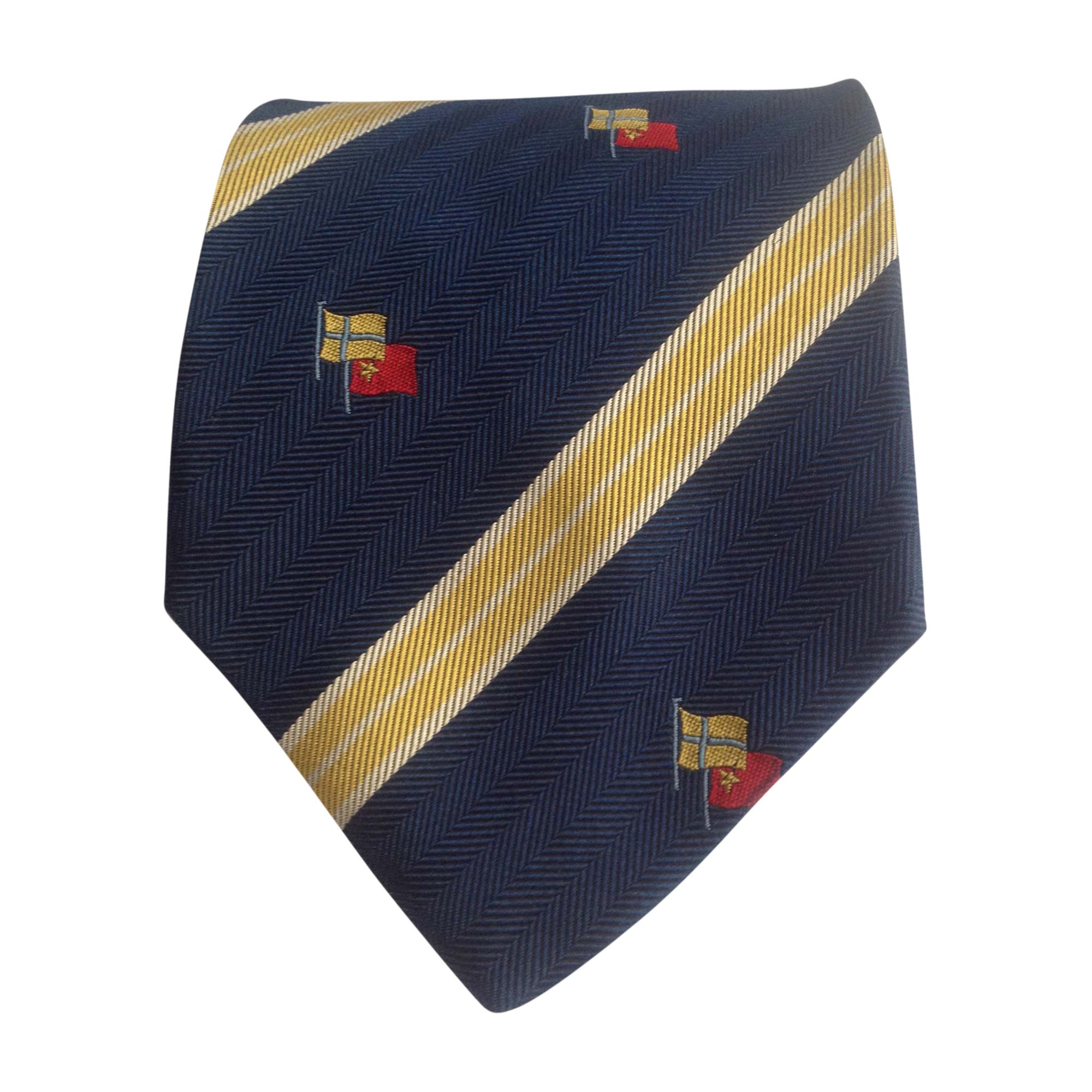 Cravate GIVENCHY Bleu, bleu marine, bleu turquoise