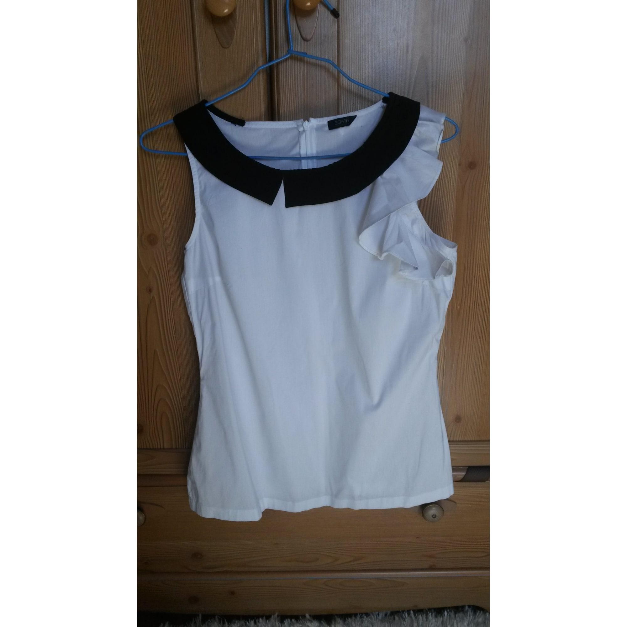 Top, tee-shirt ESPRIT Blanc, blanc cassé, écru