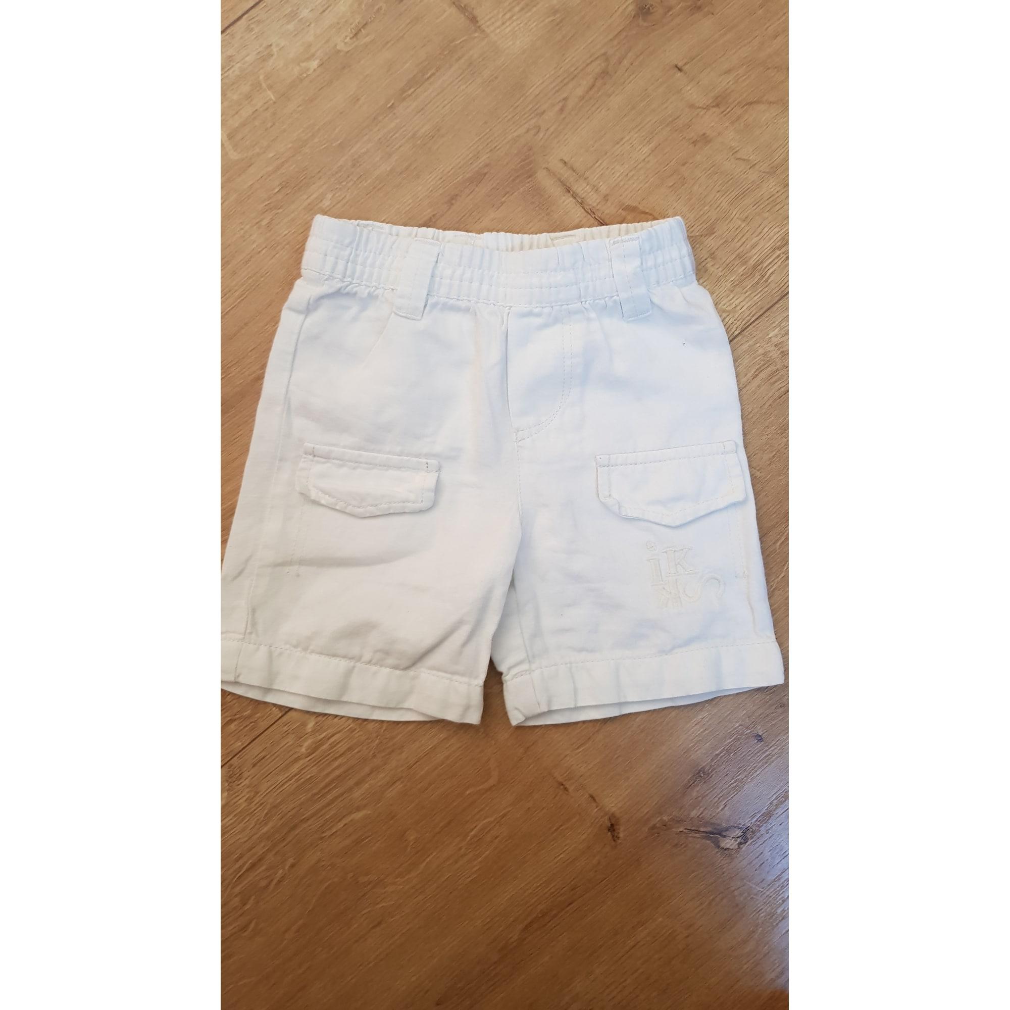 Shorts IKKS White, off-white, ecru
